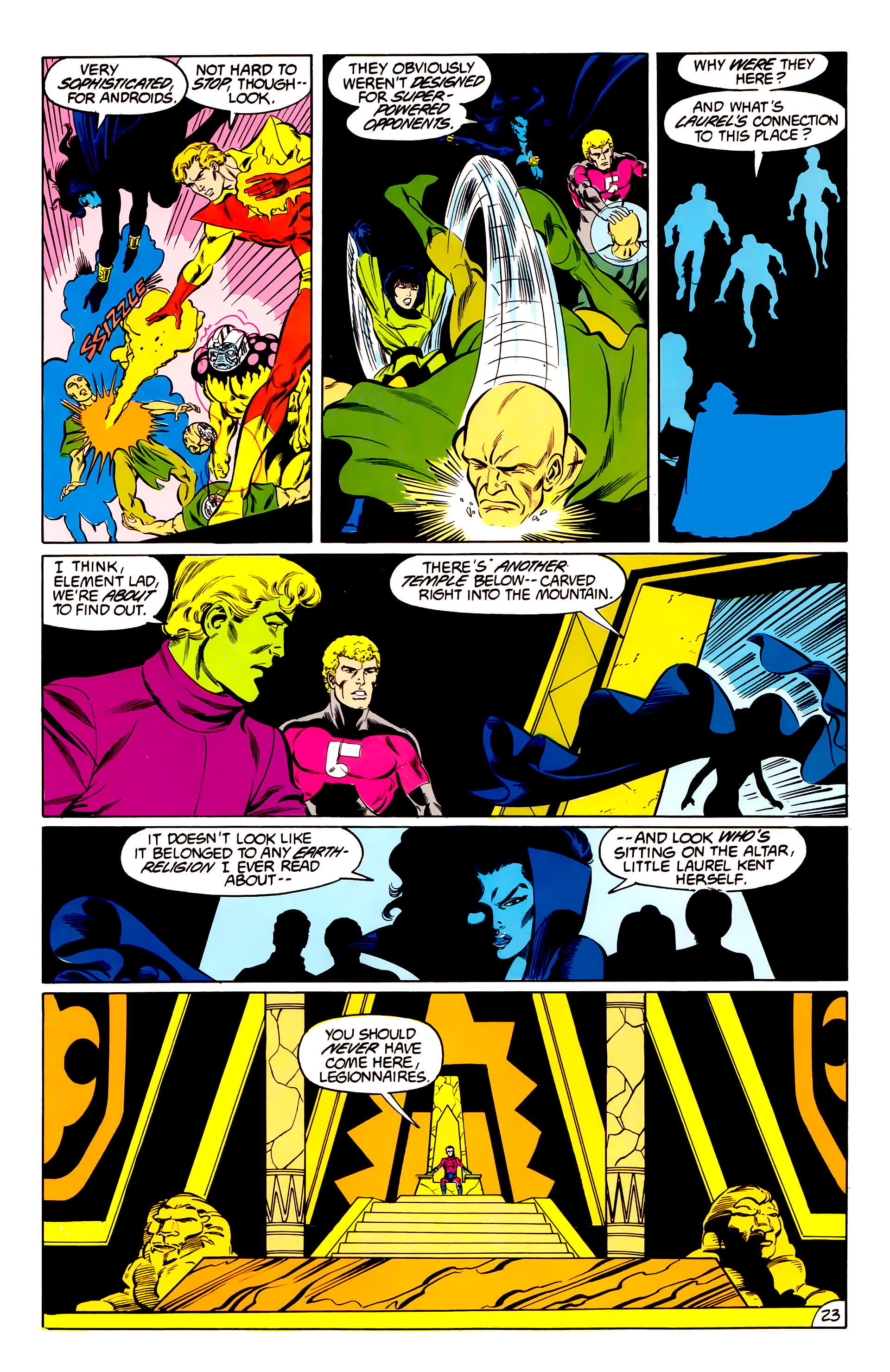 Legion of Super-Heroes (1984) 42 Page 23