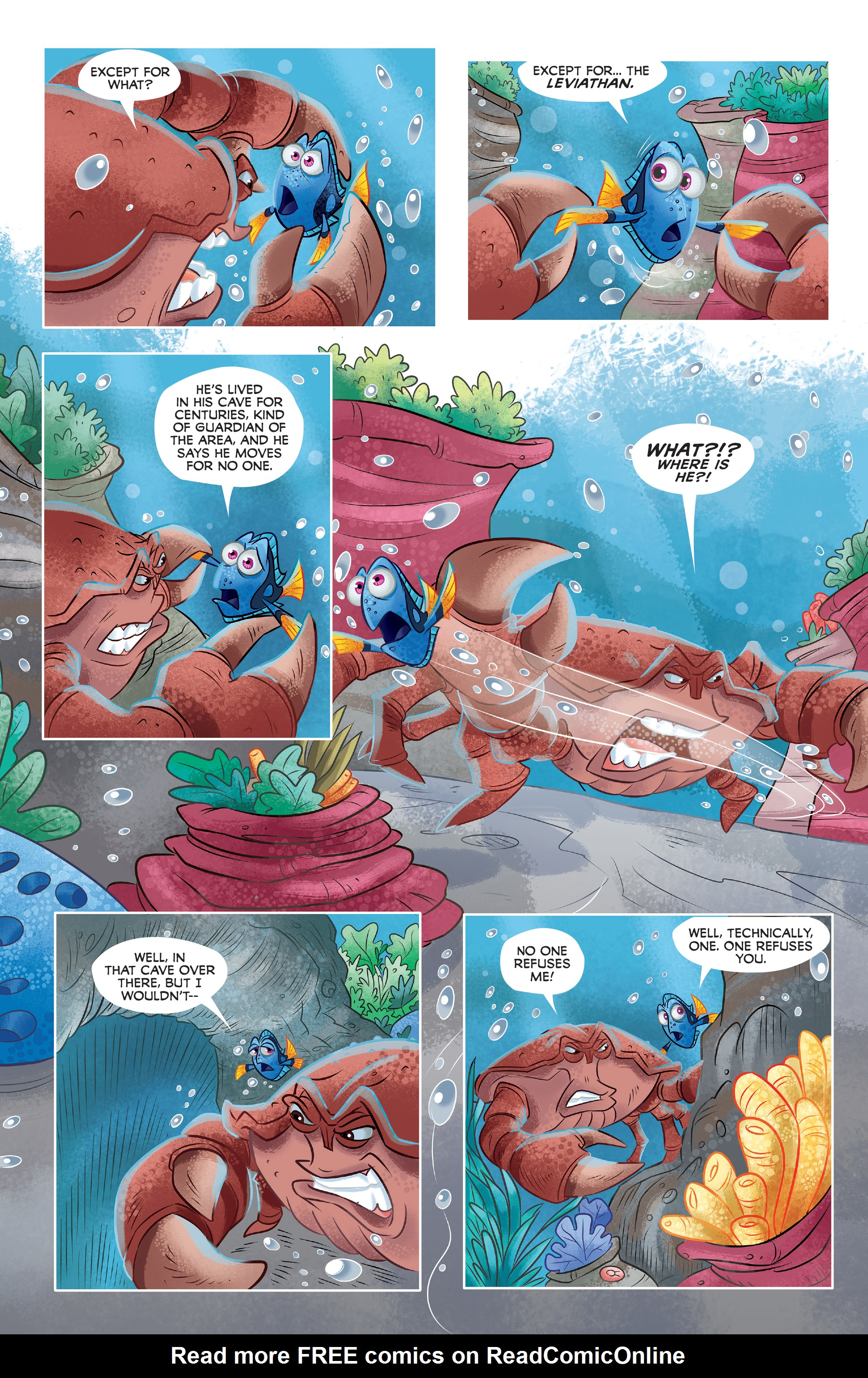 Read online Disney Pixar Finding Dory comic -  Issue #3 - 17