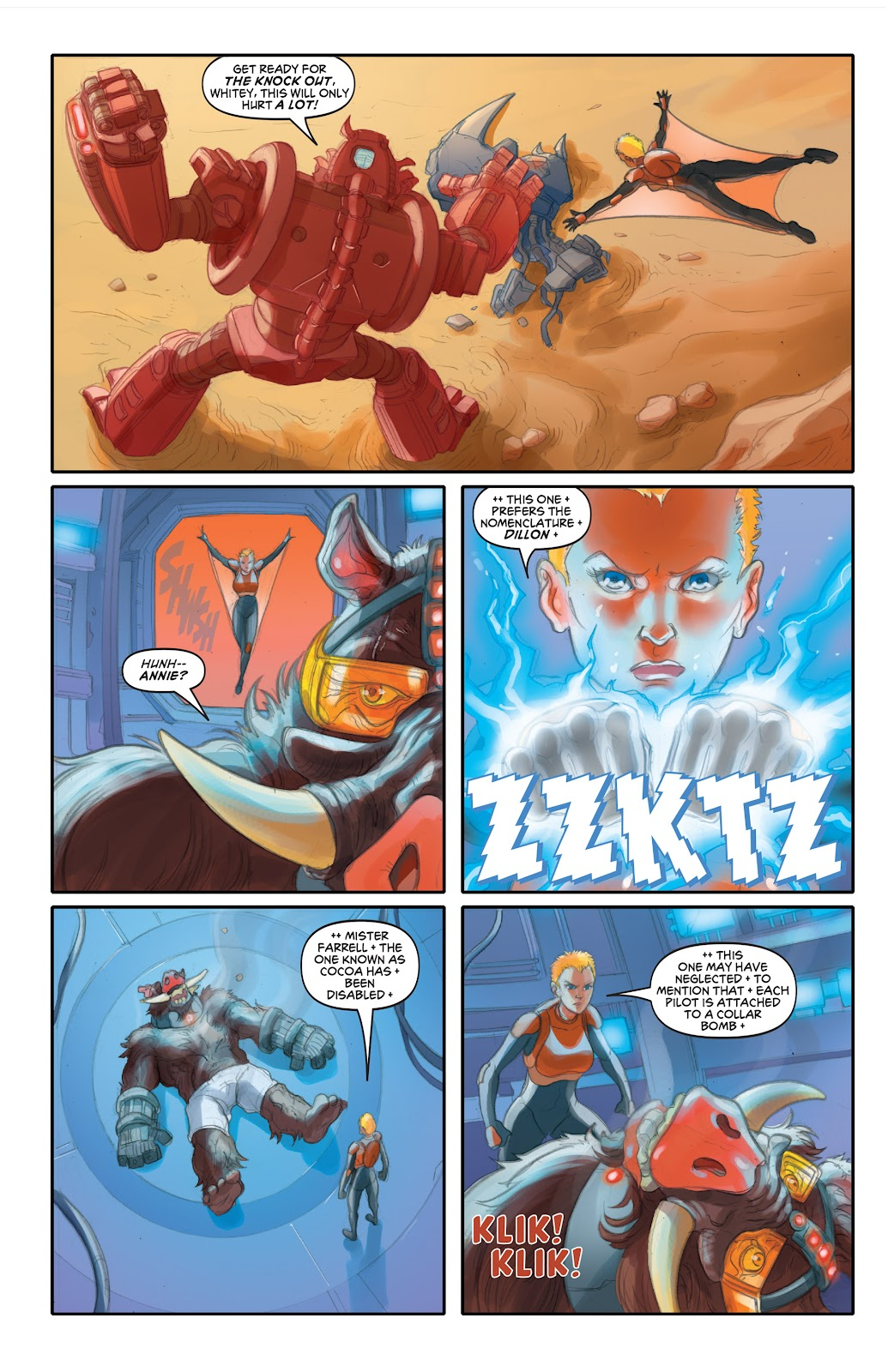 Read online Elephantmen 2261 Season Two: The Pentalion Job comic -  Issue # TPB - 87