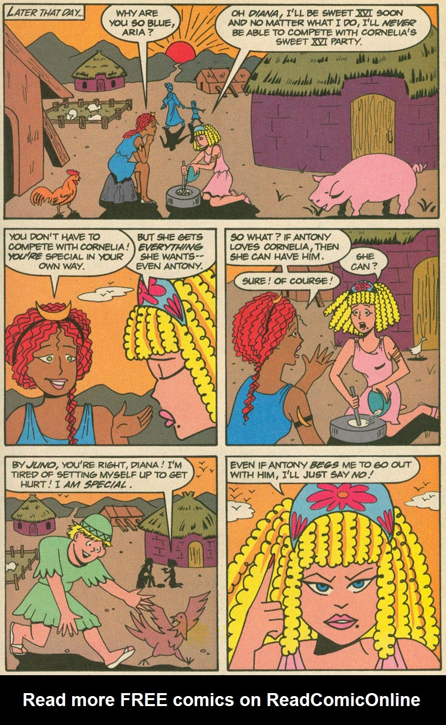 Read online Sweet XVI (Sixteen): Back To School Special comic -  Issue # Full - 6