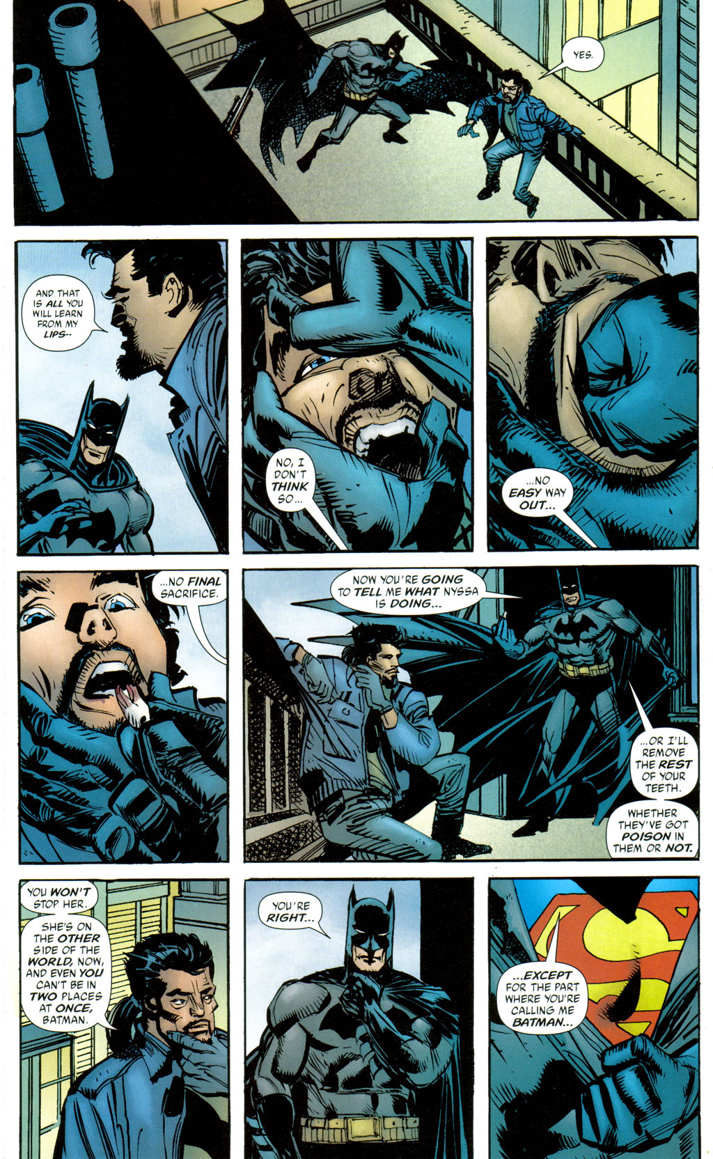 Read online Batman: Death and the Maidens comic -  Issue #8 - 12