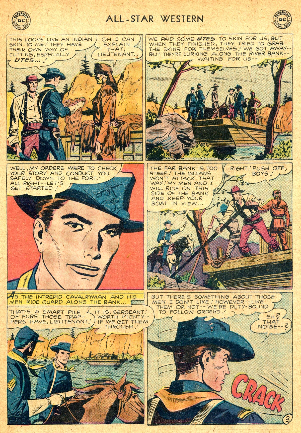 Read online All-Star Western (1951) comic -  Issue #104 - 17