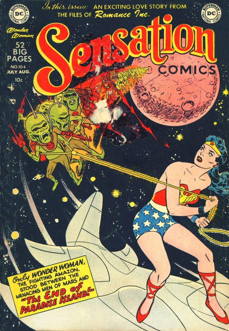 Read online Sensation (Mystery) Comics comic -  Issue #104 - 1