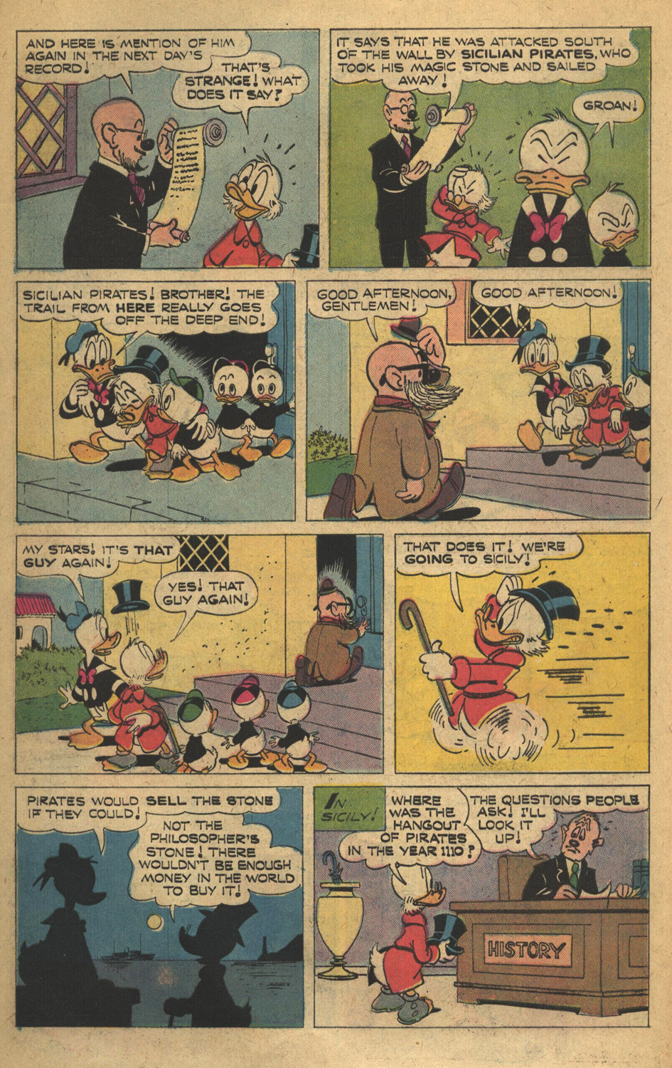 Read online Uncle Scrooge (1953) comic -  Issue #132 - 10