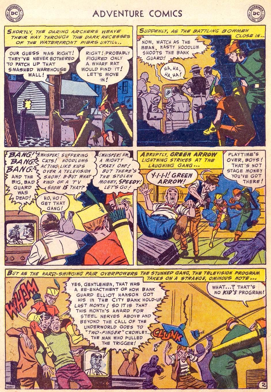 Read online Adventure Comics (1938) comic -  Issue #197 - 35