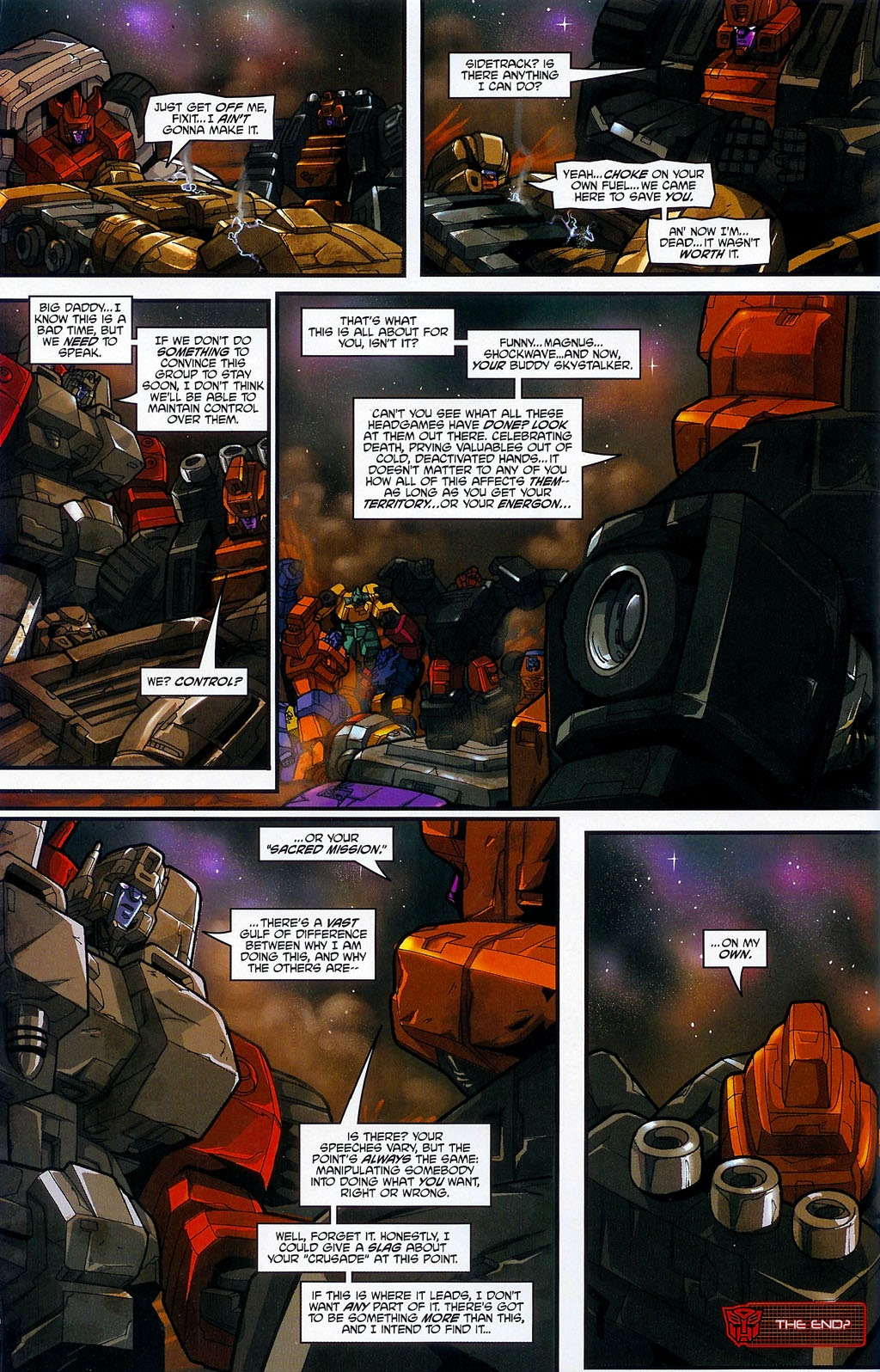 Read online Transformers: Micromasters comic -  Issue #4 - 24