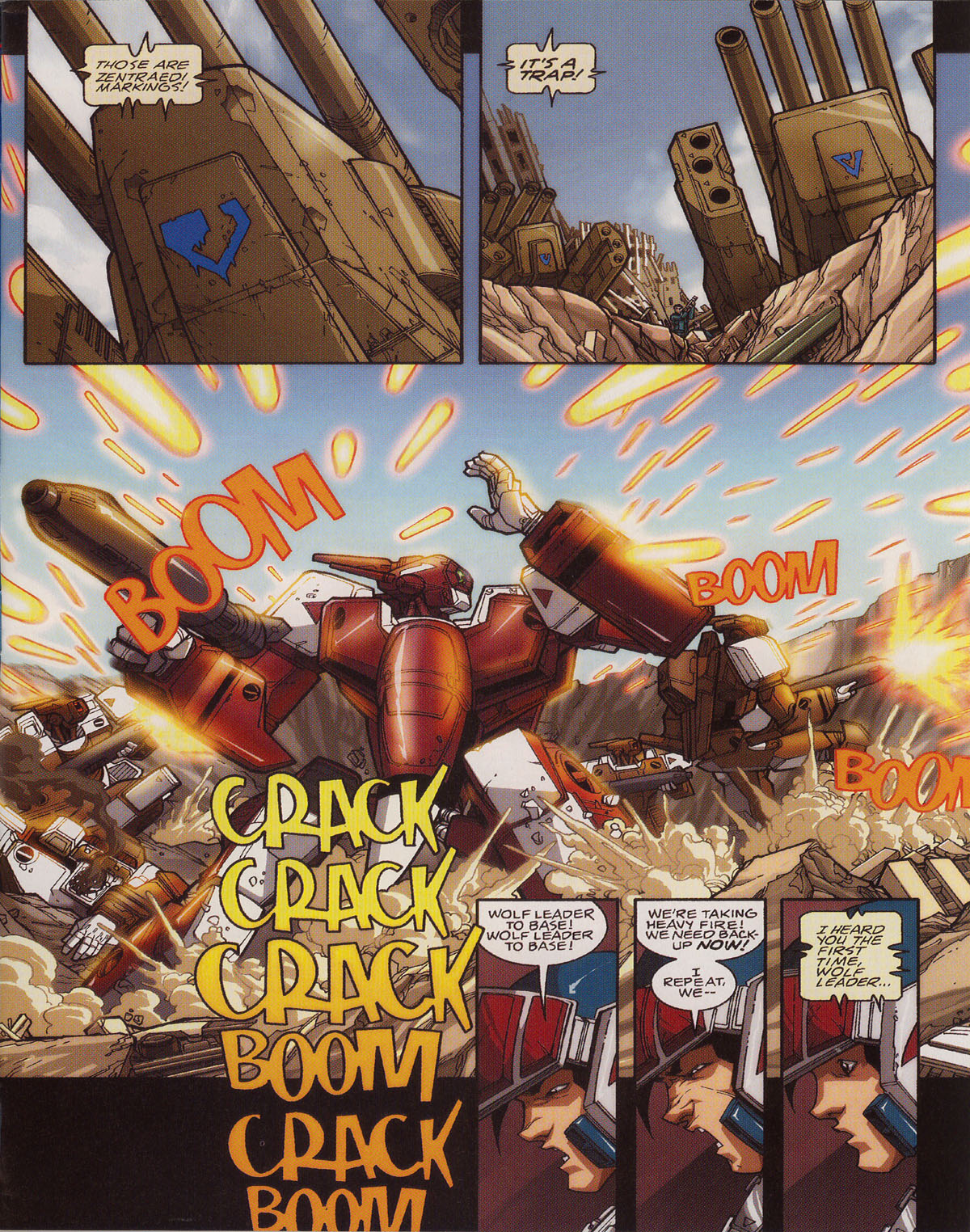 Robotech (2003) issue 0 - Page 5