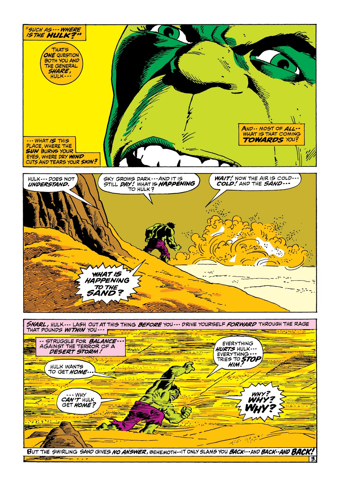 Read online Marvel Masterworks: The Incredible Hulk comic -  Issue # TPB 8 (Part 1) - 44