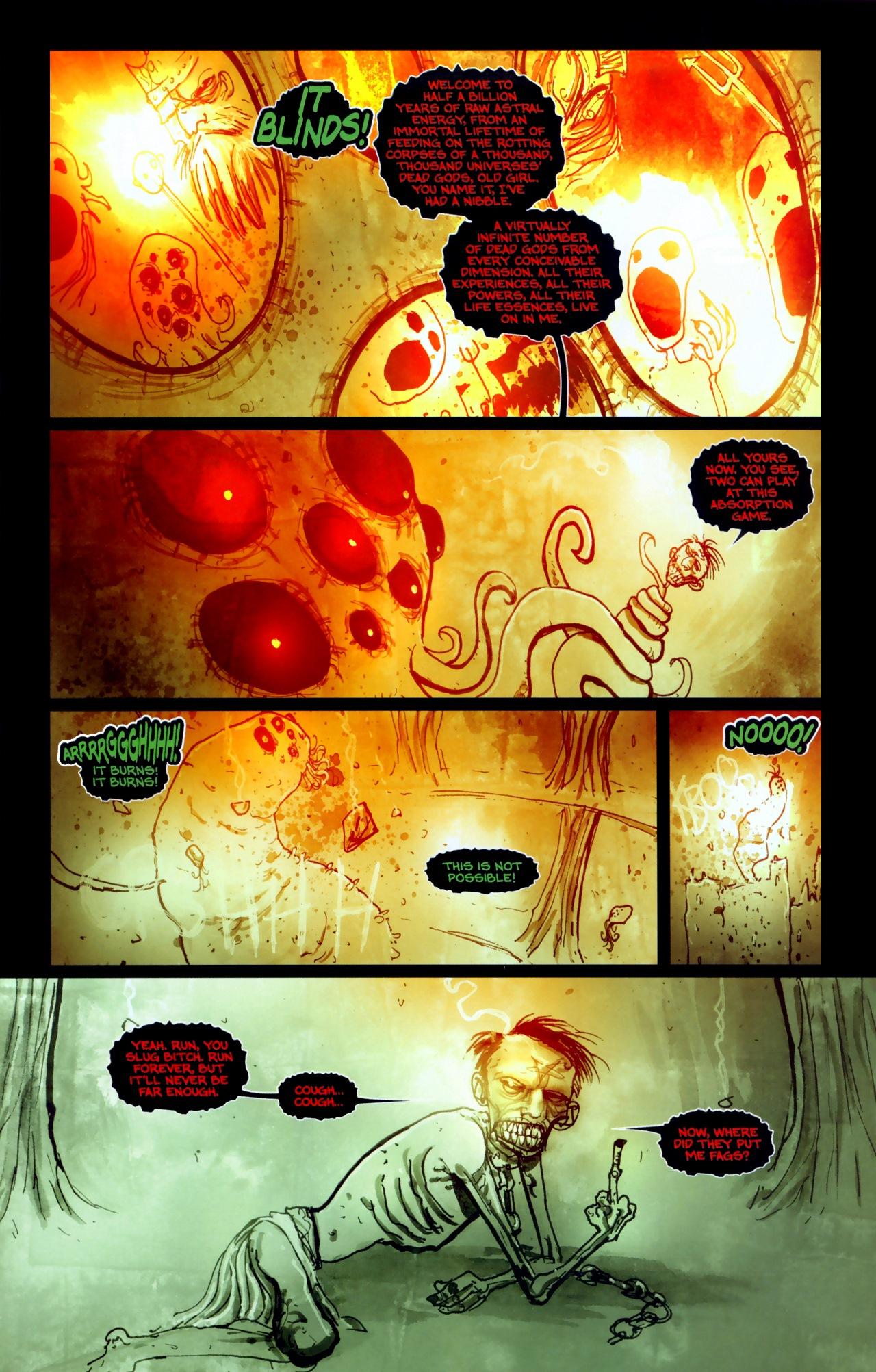 Read online Wormwood: Gentleman Corpse comic -  Issue #11 - 17