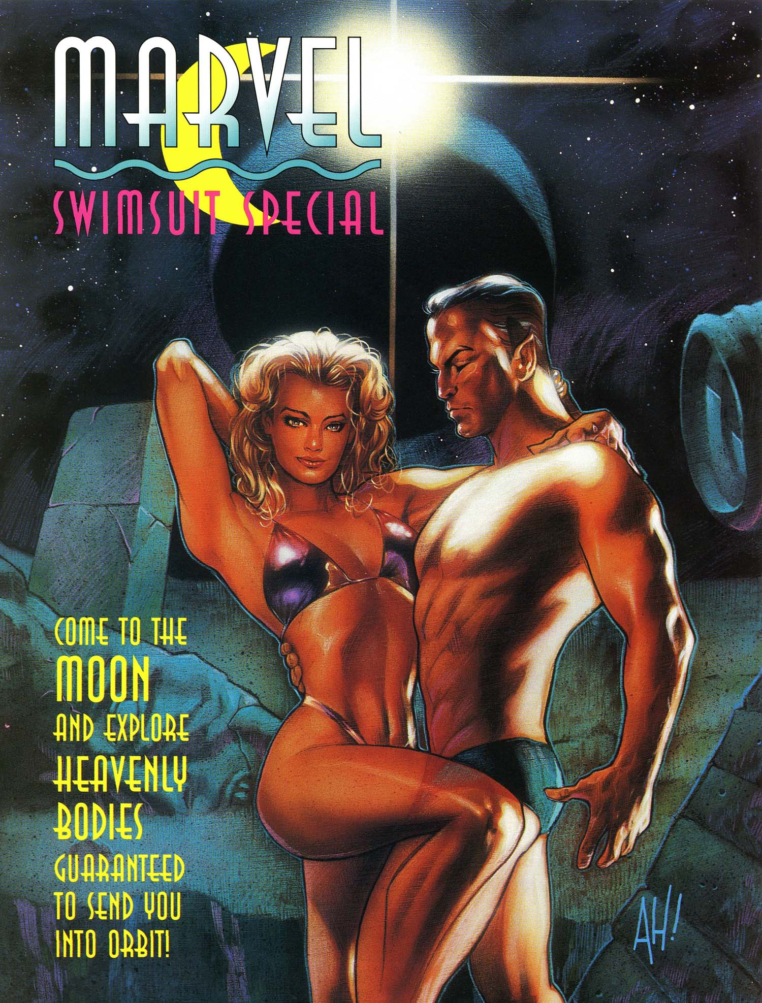 Read online Marvel Swimsuit Special comic -  Issue #3 - 1