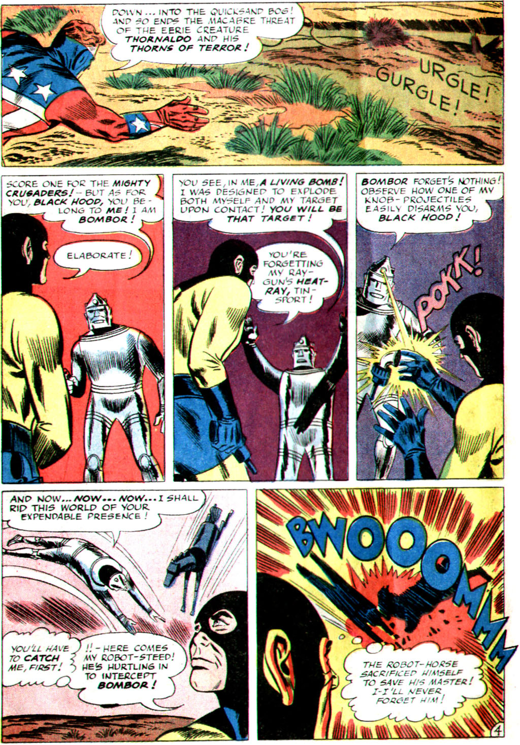 The Mighty Crusaders (1965) Issue #1 #1 - English 6
