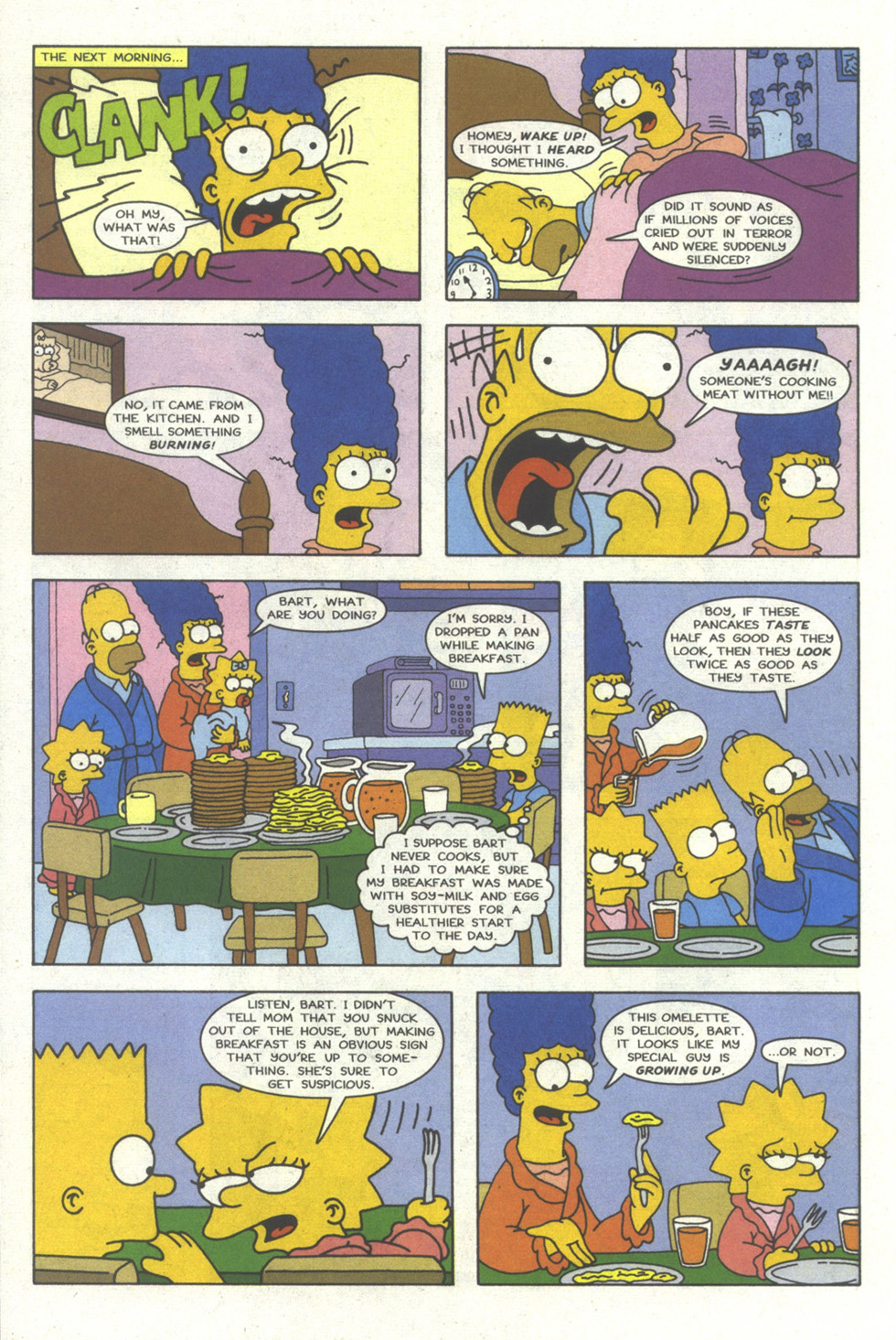 Read online Simpsons Comics comic -  Issue #20 - 13