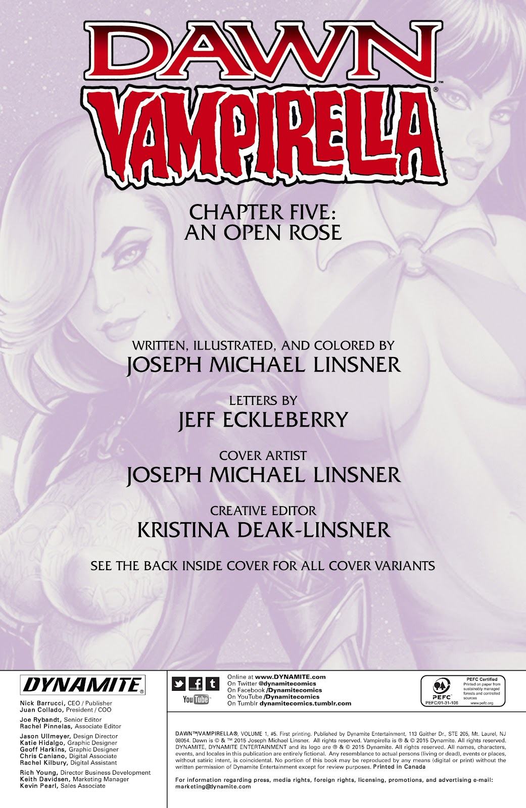 Dawn/Vampirella 5 Page 2