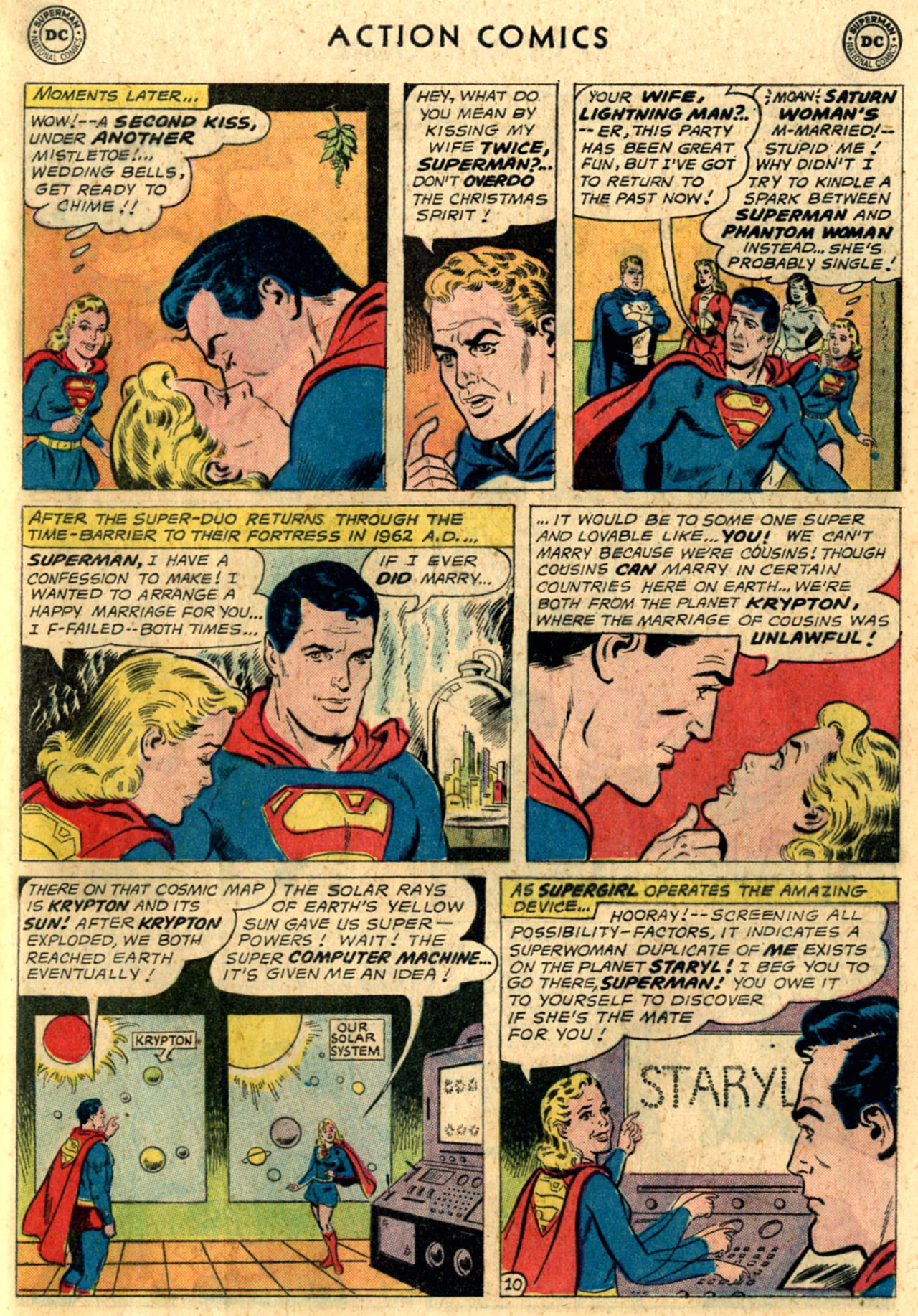 Read online Action Comics (1938) comic -  Issue #289 - 29