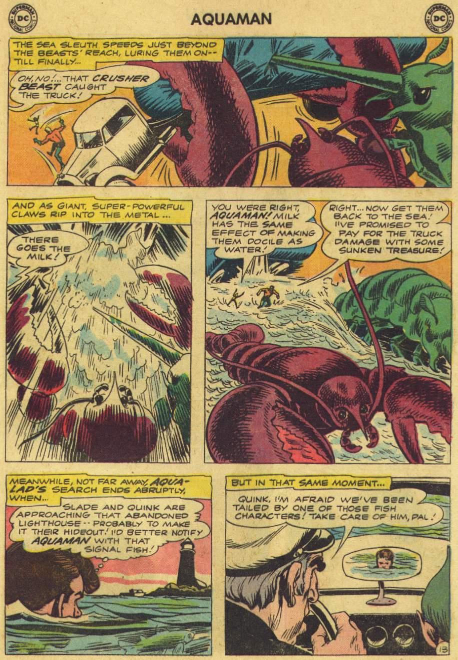 Read online Aquaman (1962) comic -  Issue #6 - 17