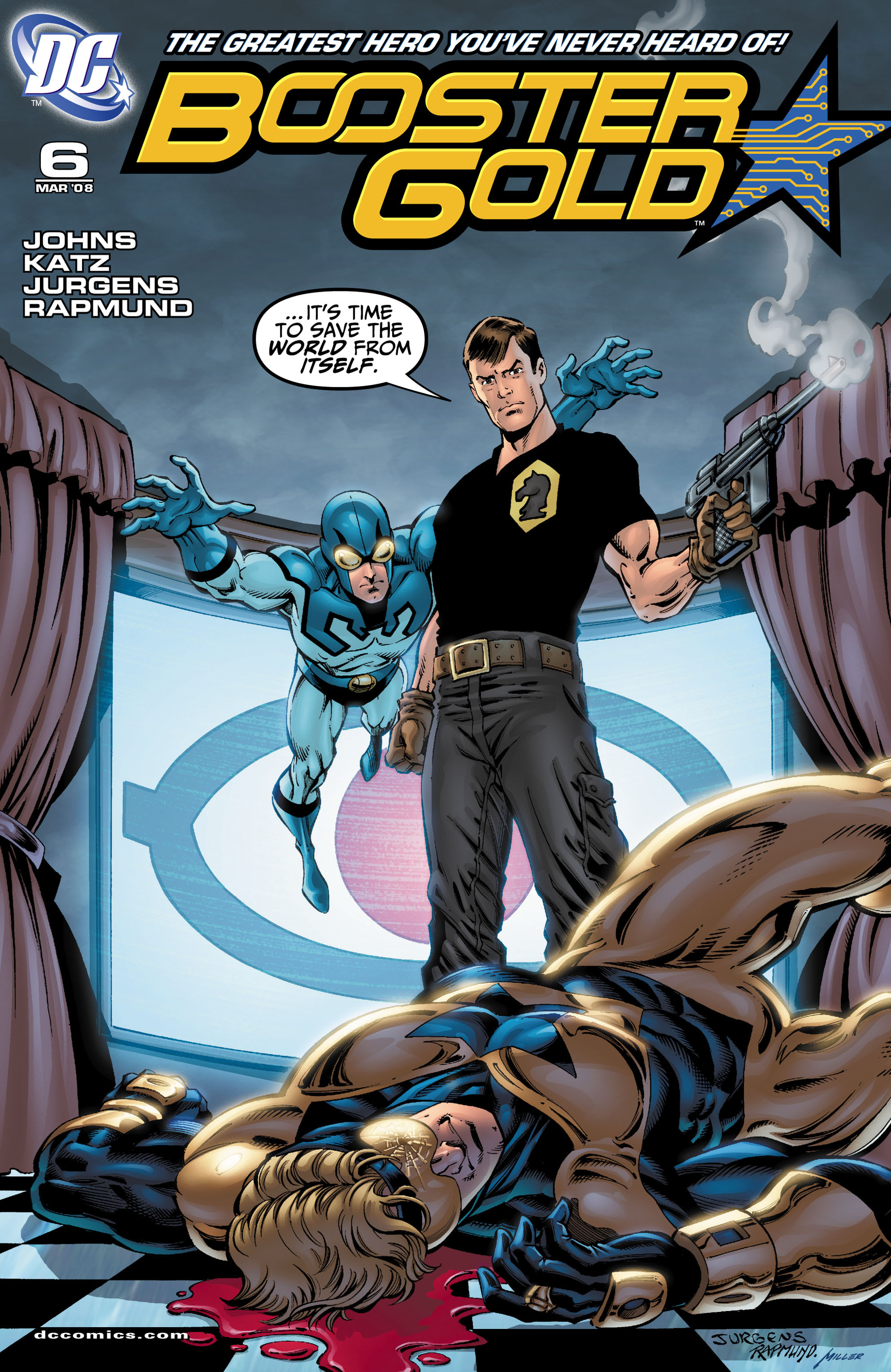 Booster Gold 2007 Issue 6