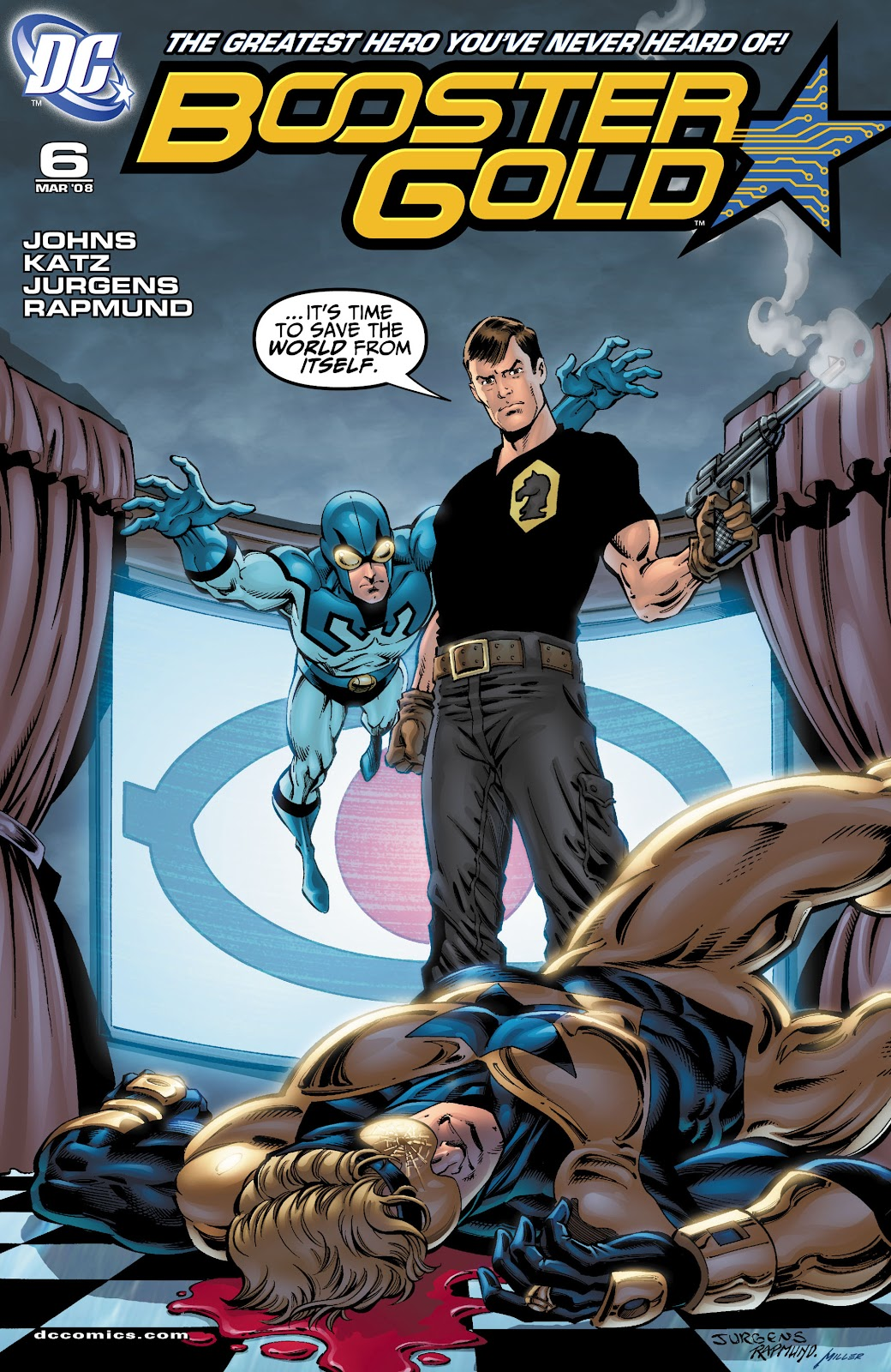 Booster Gold (2007) issue 6 - Page 1
