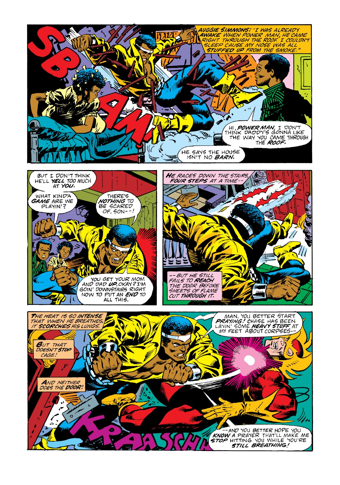 Read online Marvel Masterworks: Luke Cage, Power Man comic -  Issue # TPB 3 (Part 1) - 23