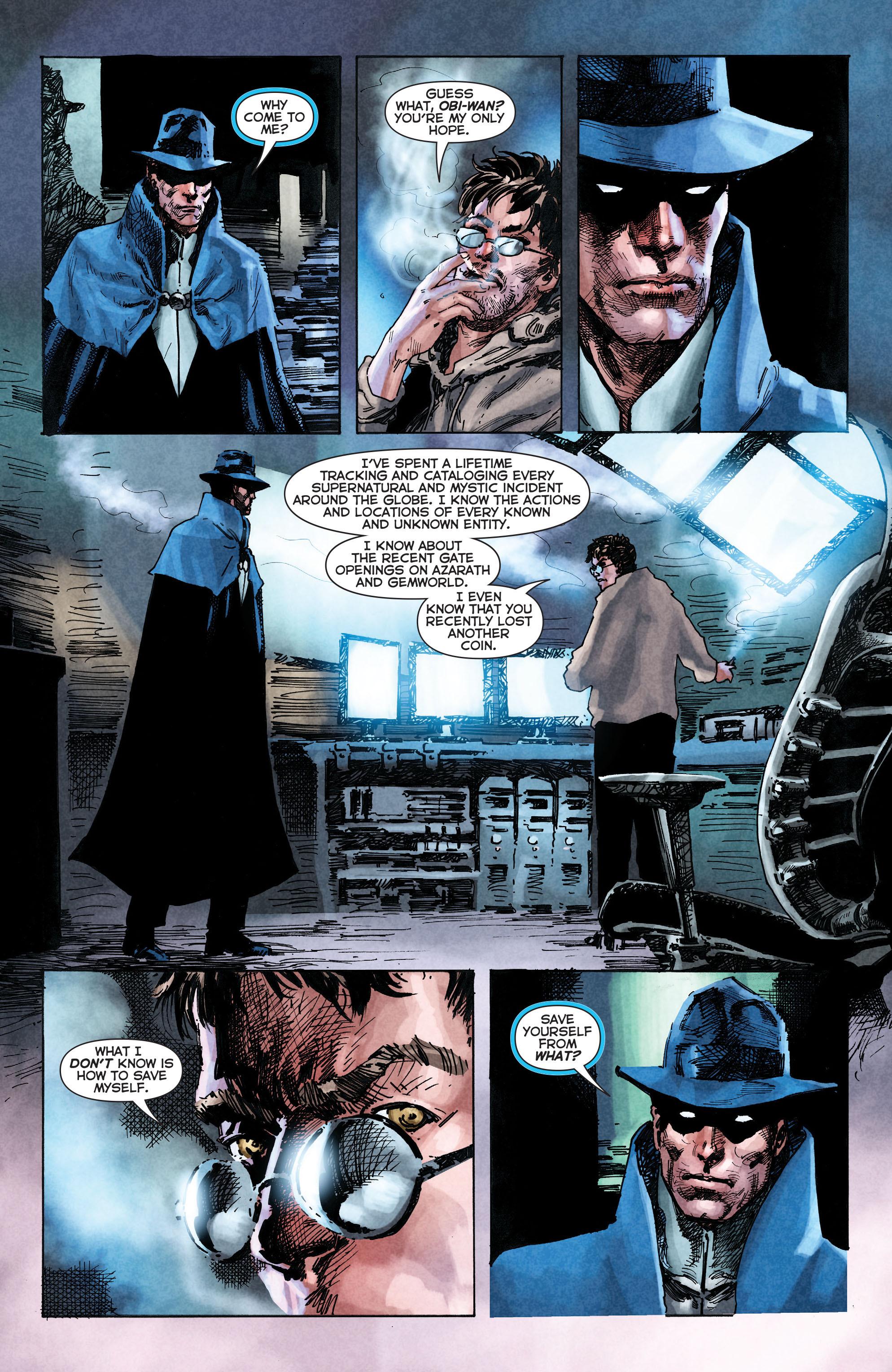 Read online Trinity of Sin: The Phantom Stranger comic -  Issue #2 - 17