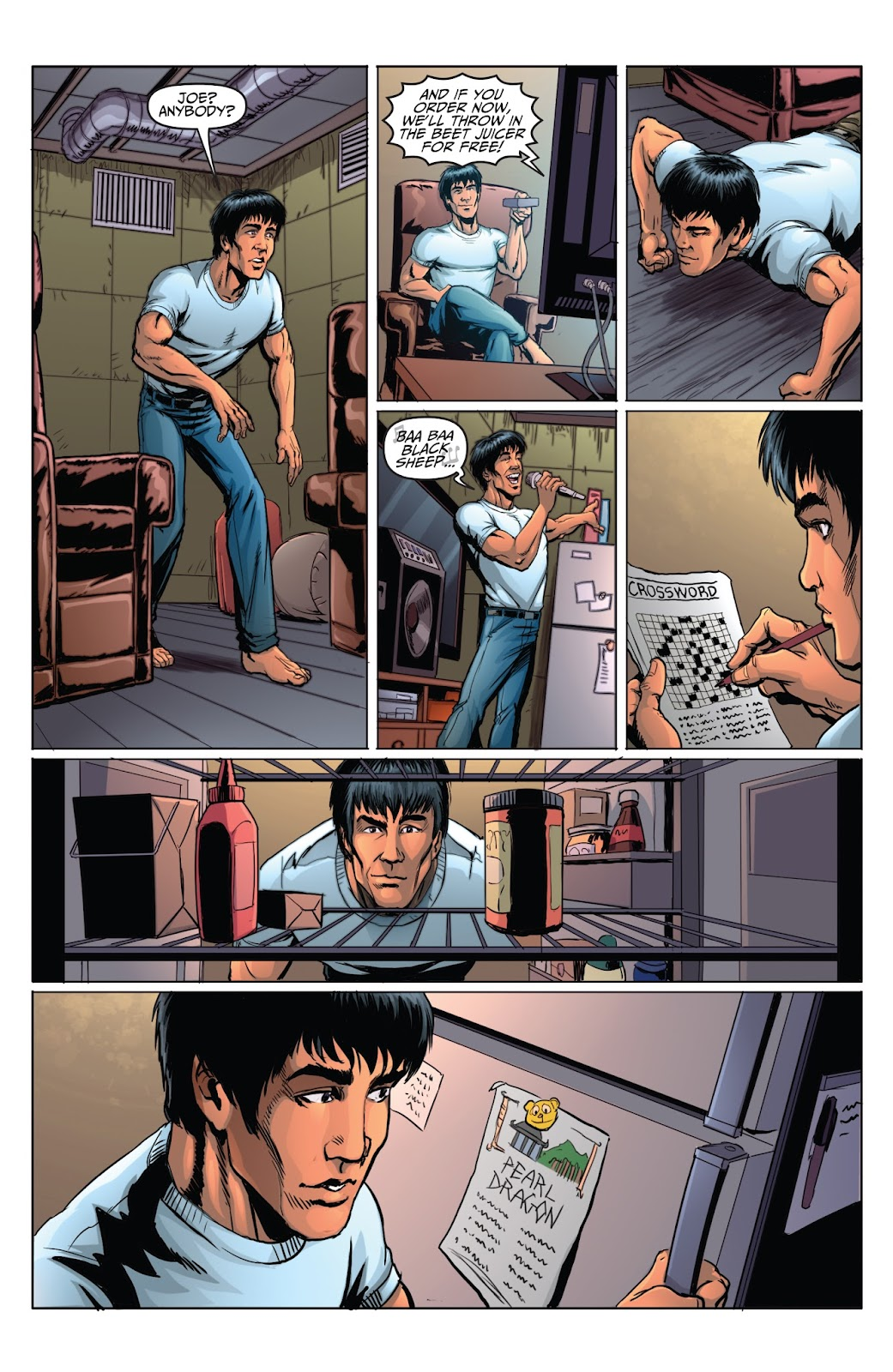 Bruce Lee: Walk of the Dragon issue Full - Page 5