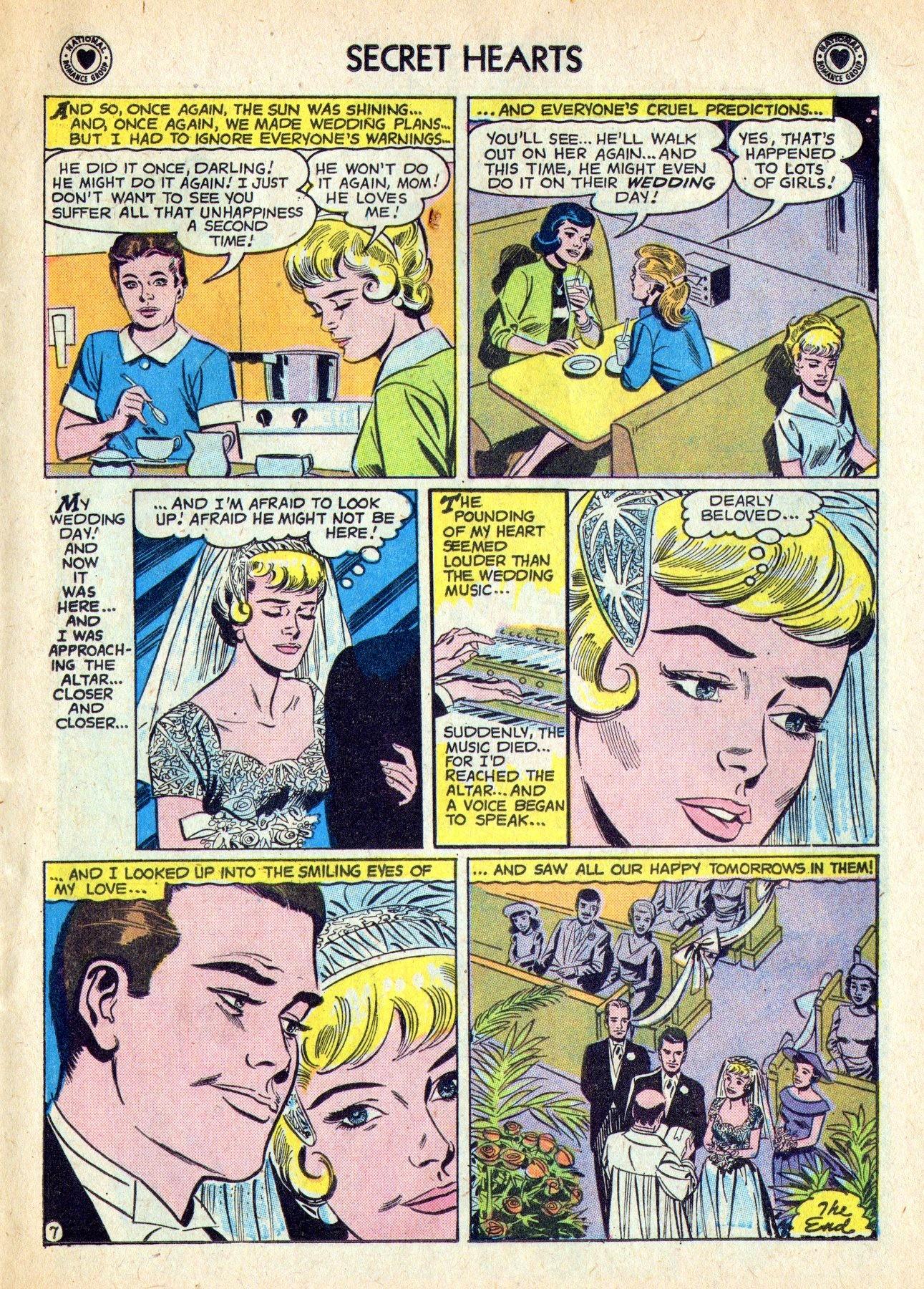 Read online Secret Hearts comic -  Issue #53 - 25
