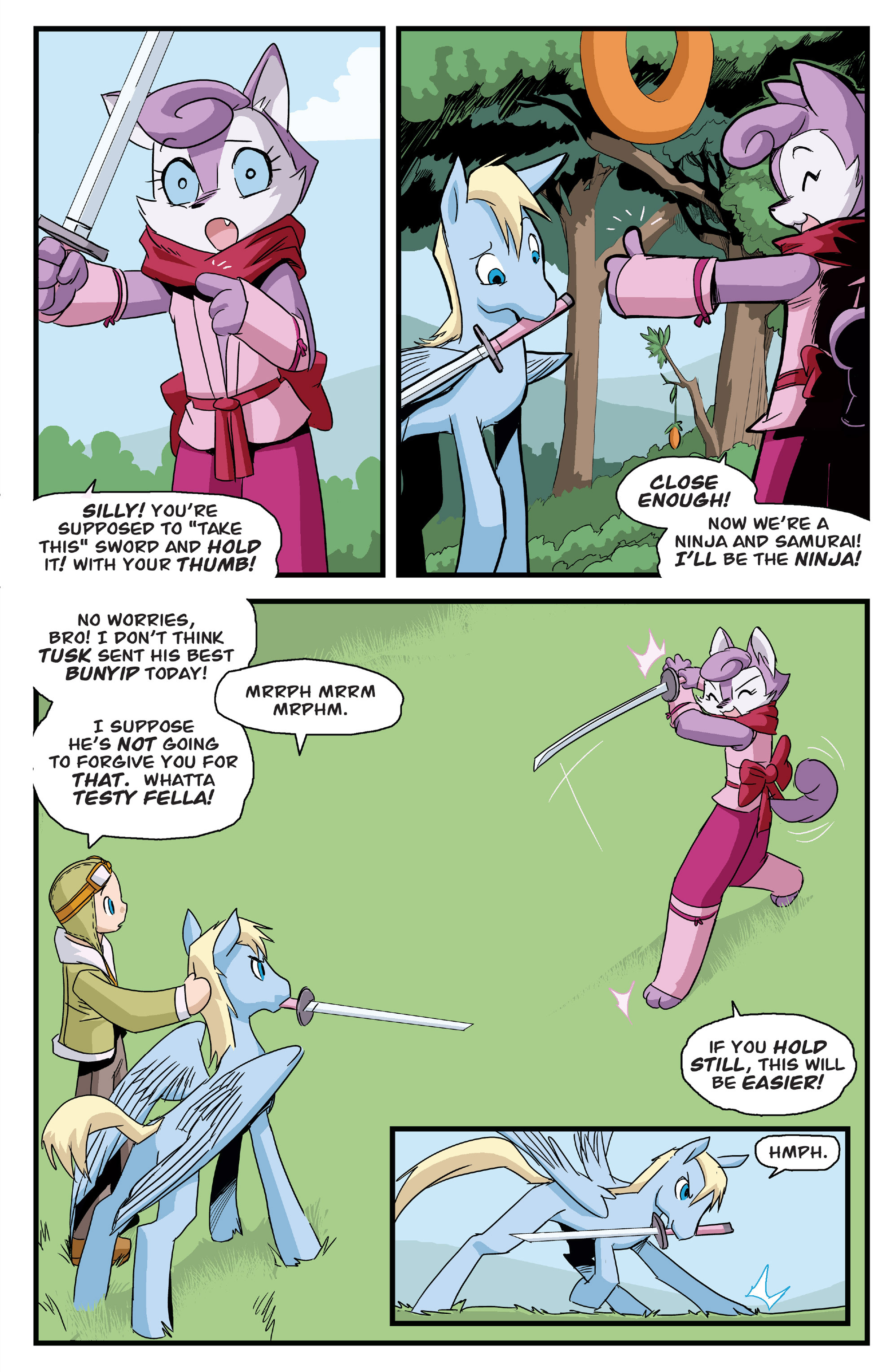 Read online Action Time Buddies comic -  Issue #Action Time Buddies Full - 21