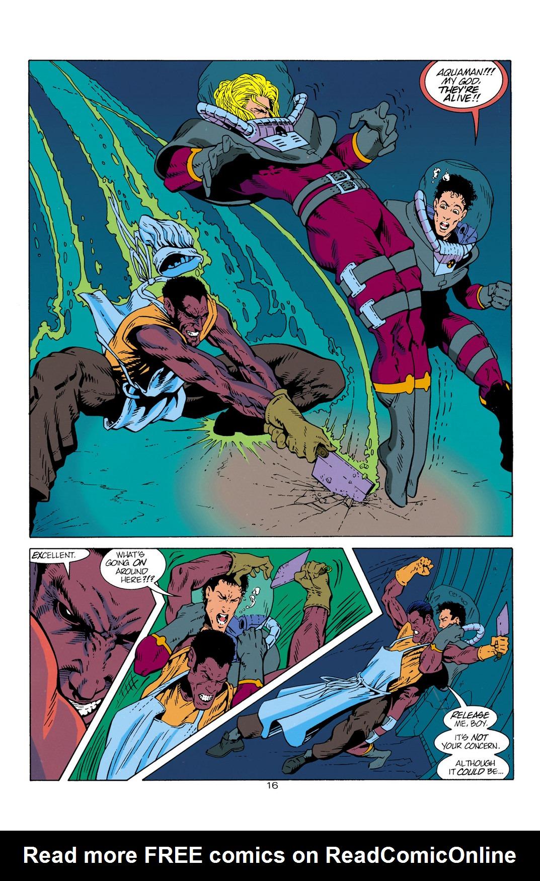 Read online Aquaman (1994) comic -  Issue #1 - 17