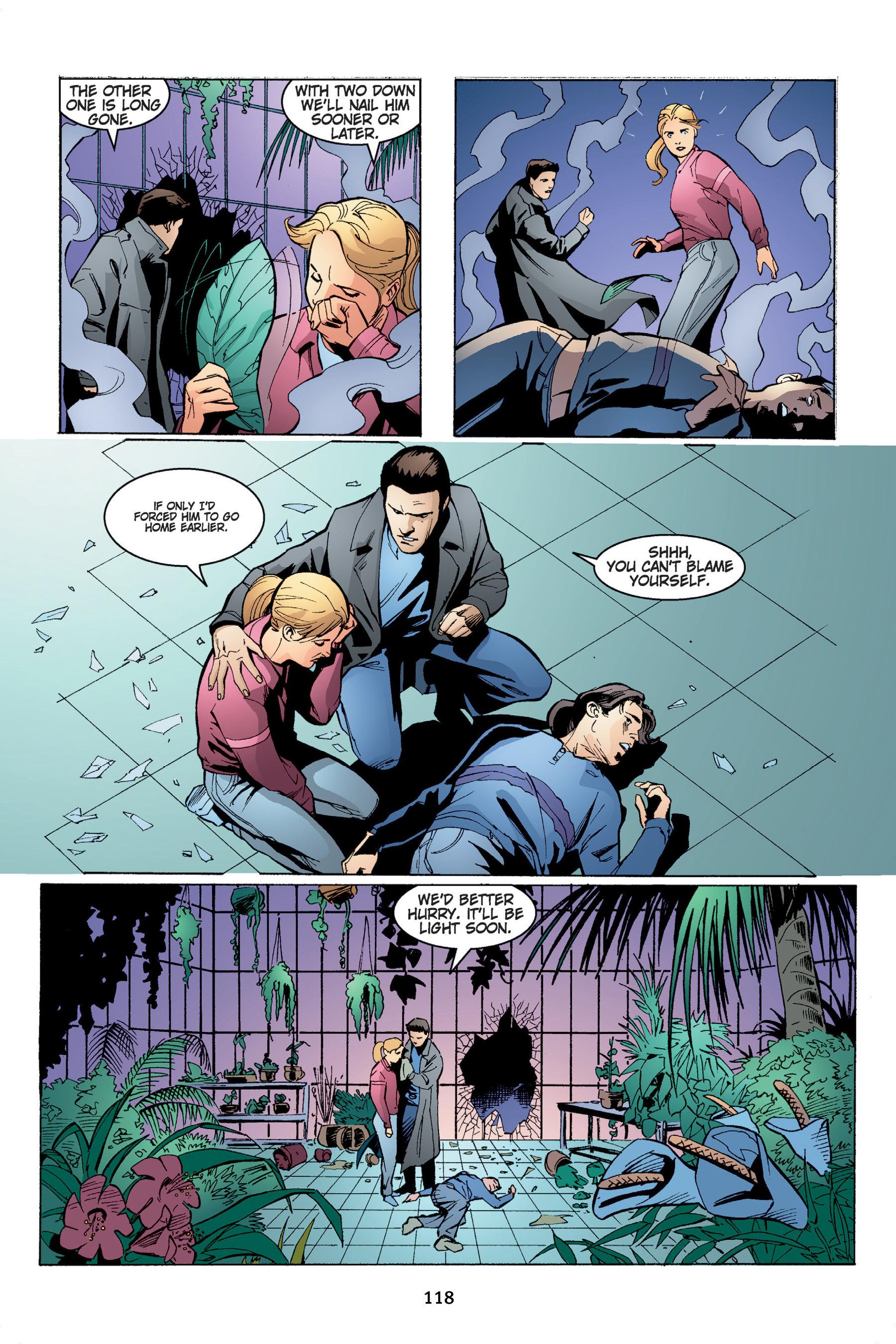 Read online Buffy the Vampire Slayer: Omnibus comic -  Issue # TPB 4 - 119