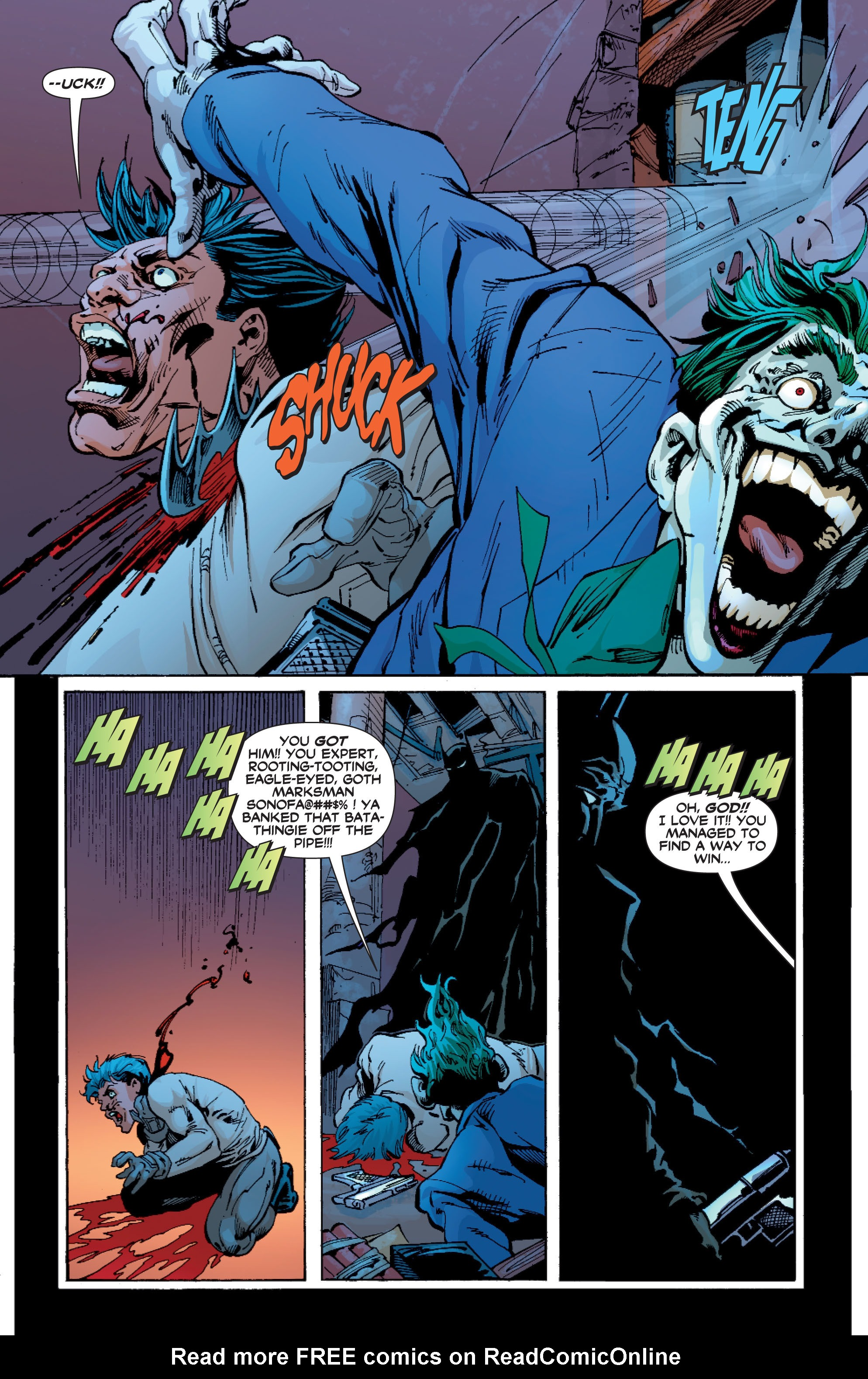 Read online Batman: Under The Red Hood comic -  Issue # Full - 313