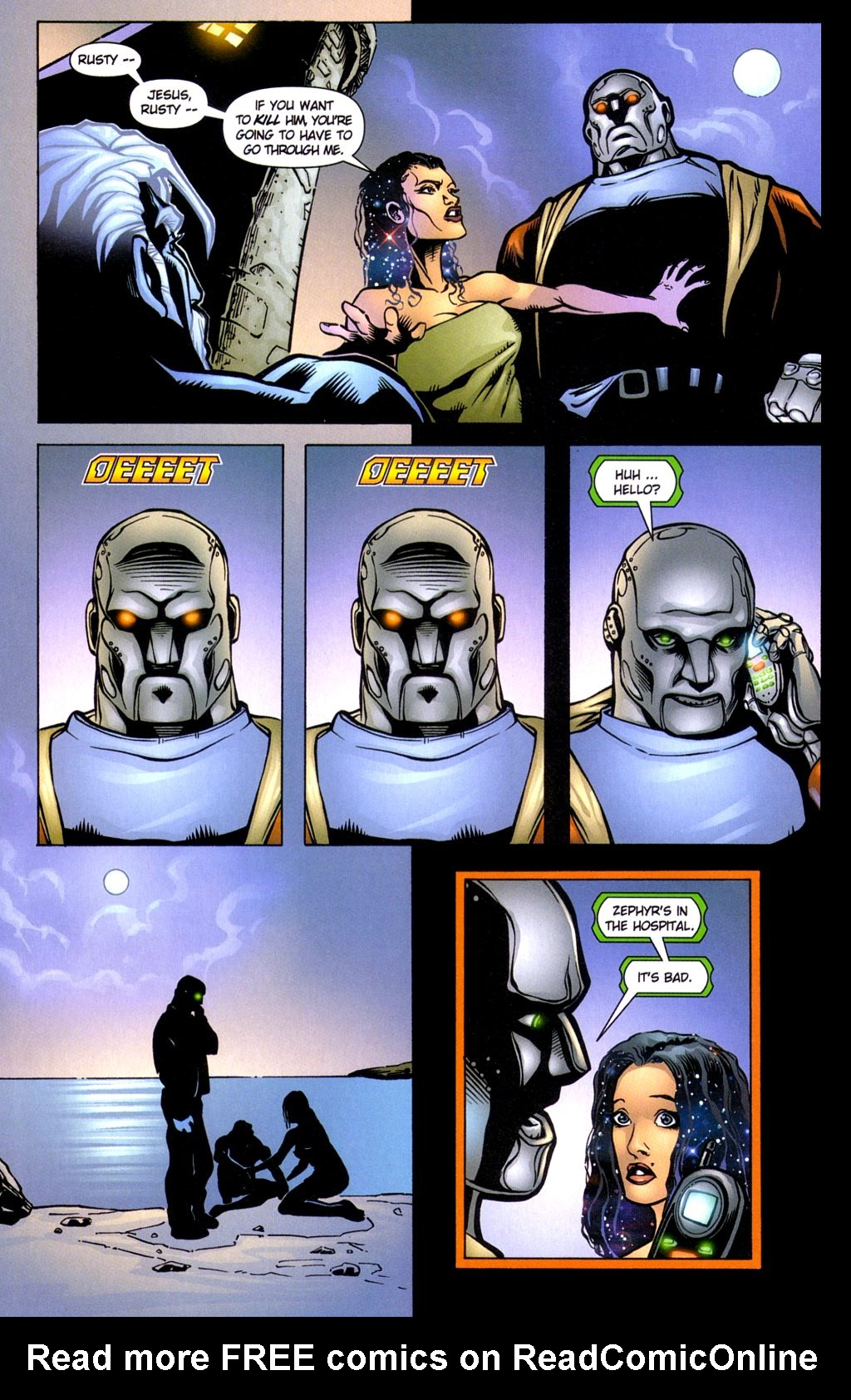 Read online Noble Causes (2002) comic -  Issue #3 - 10