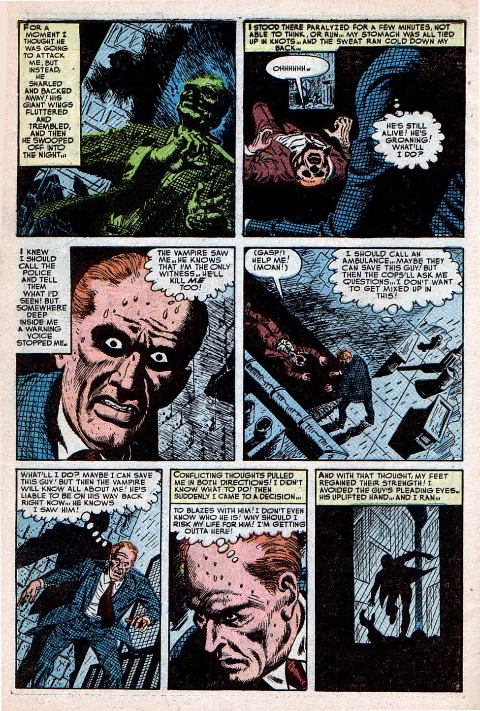 Read online Adventures into Weird Worlds comic -  Issue #30 - 3