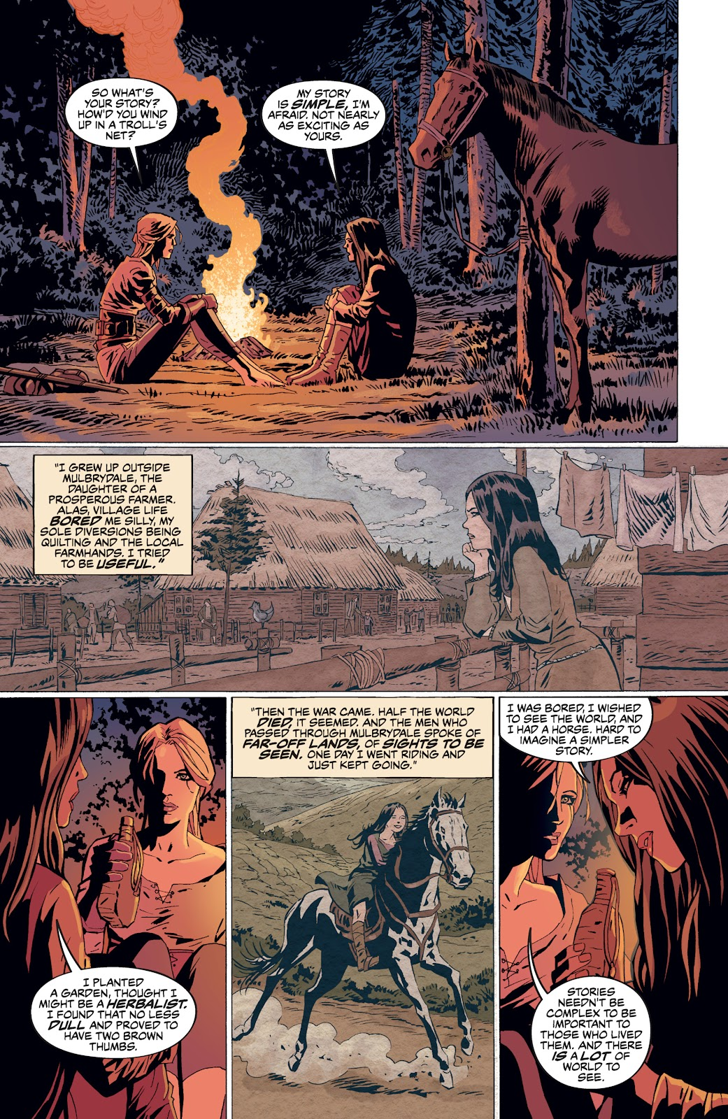 Read online The Witcher Omnibus comic -  Issue # TPB (Part 4) - 7