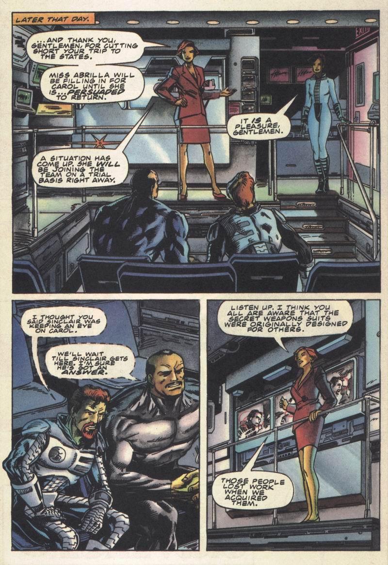 Read online Secret Weapons comic -  Issue #14 - 13