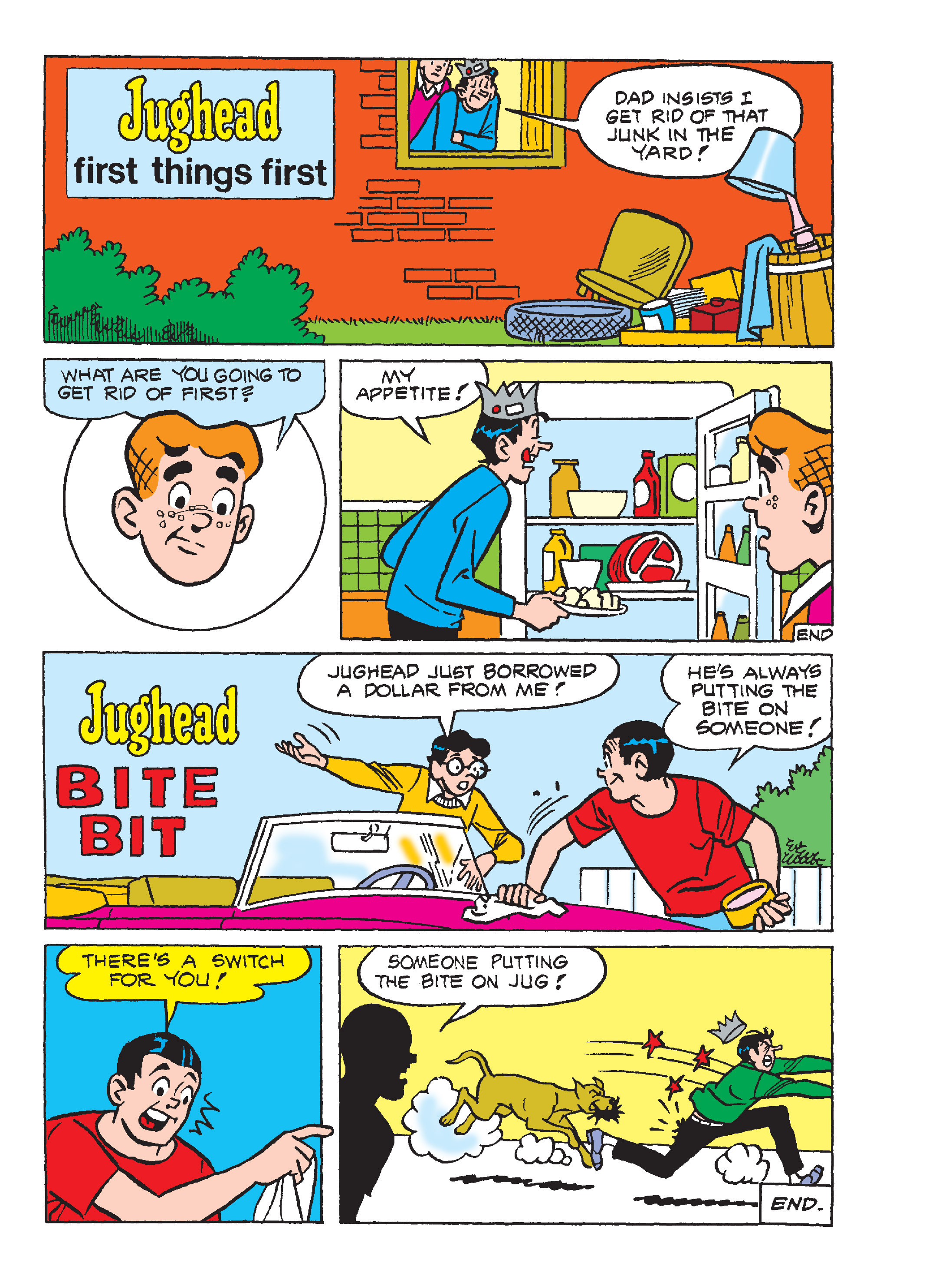 Read online Archie's Funhouse Double Digest comic -  Issue #17 - 145