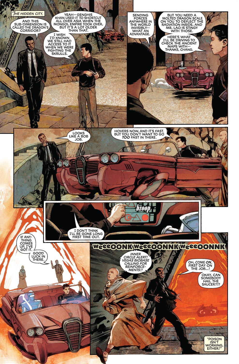 Read online Agents Of Atlas (2009) comic -  Issue #8 - 7