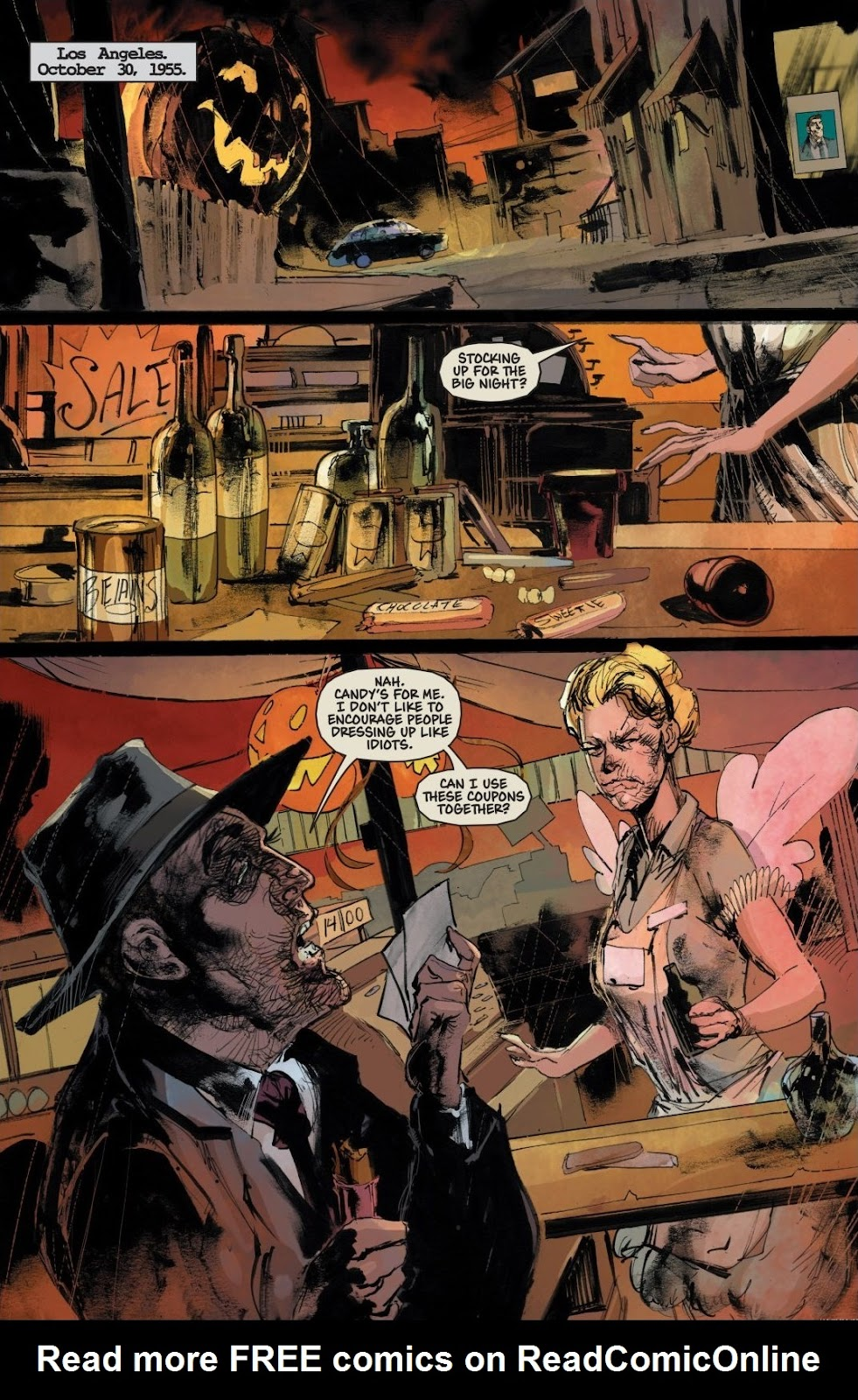 Read online Trick 'r Treat: Days of the Dead comic -  Issue # TPB - 68