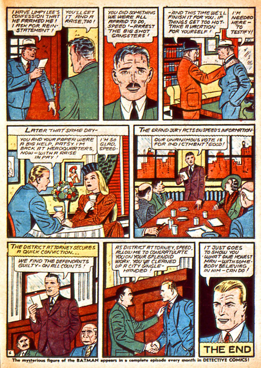 Read online Detective Comics (1937) comic -  Issue #37 - 42