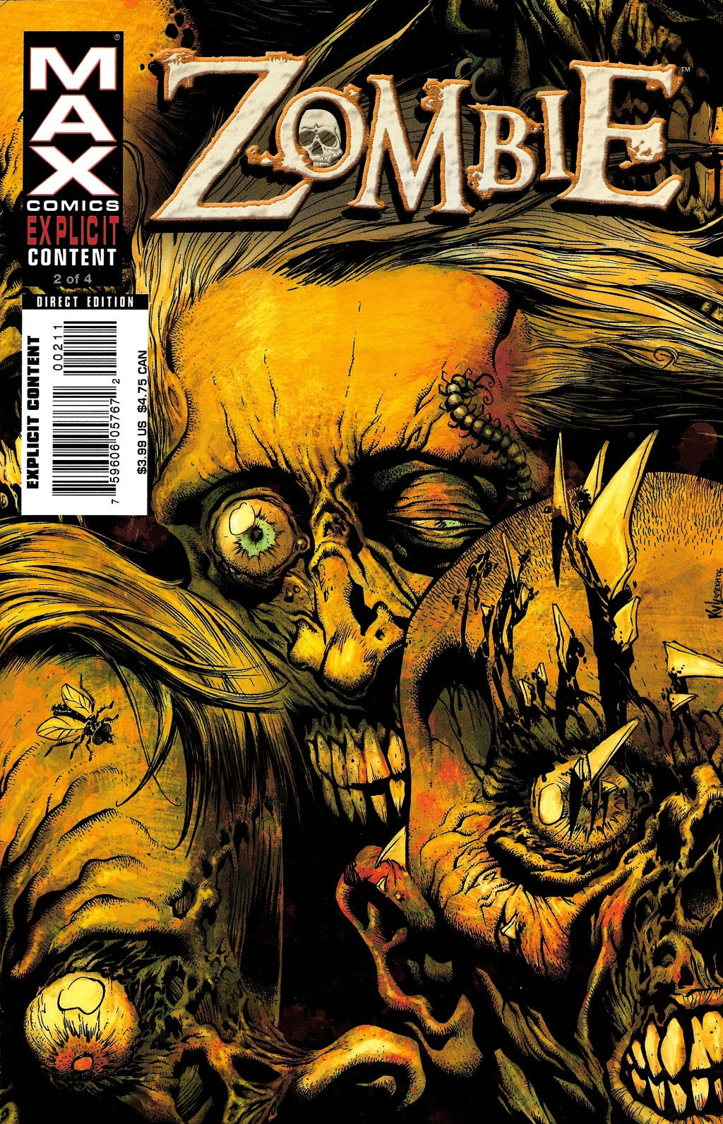 Read online Zombie (2006) comic -  Issue #2 - 1