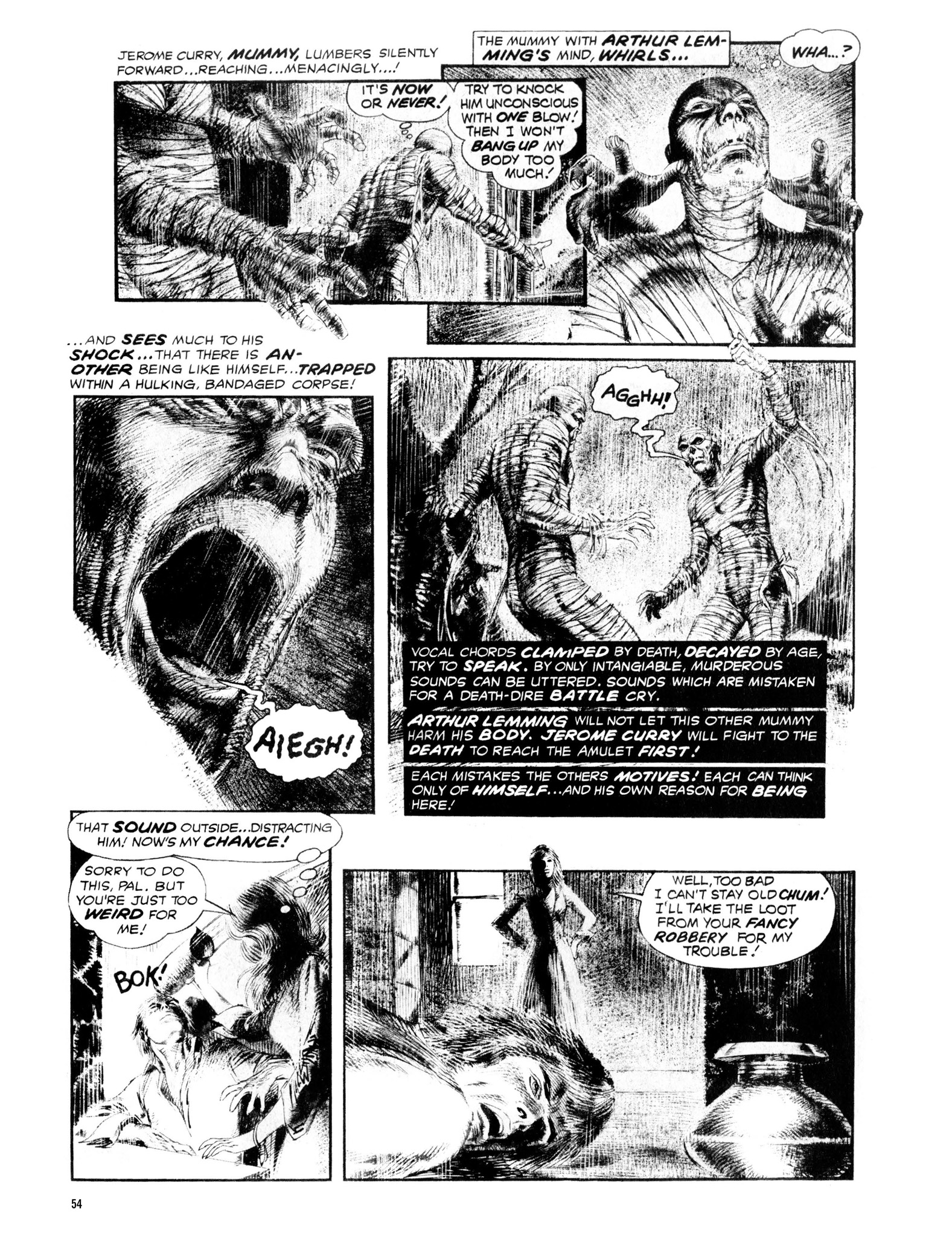 Read online Eerie Archives comic -  Issue # TPB 13 - 55