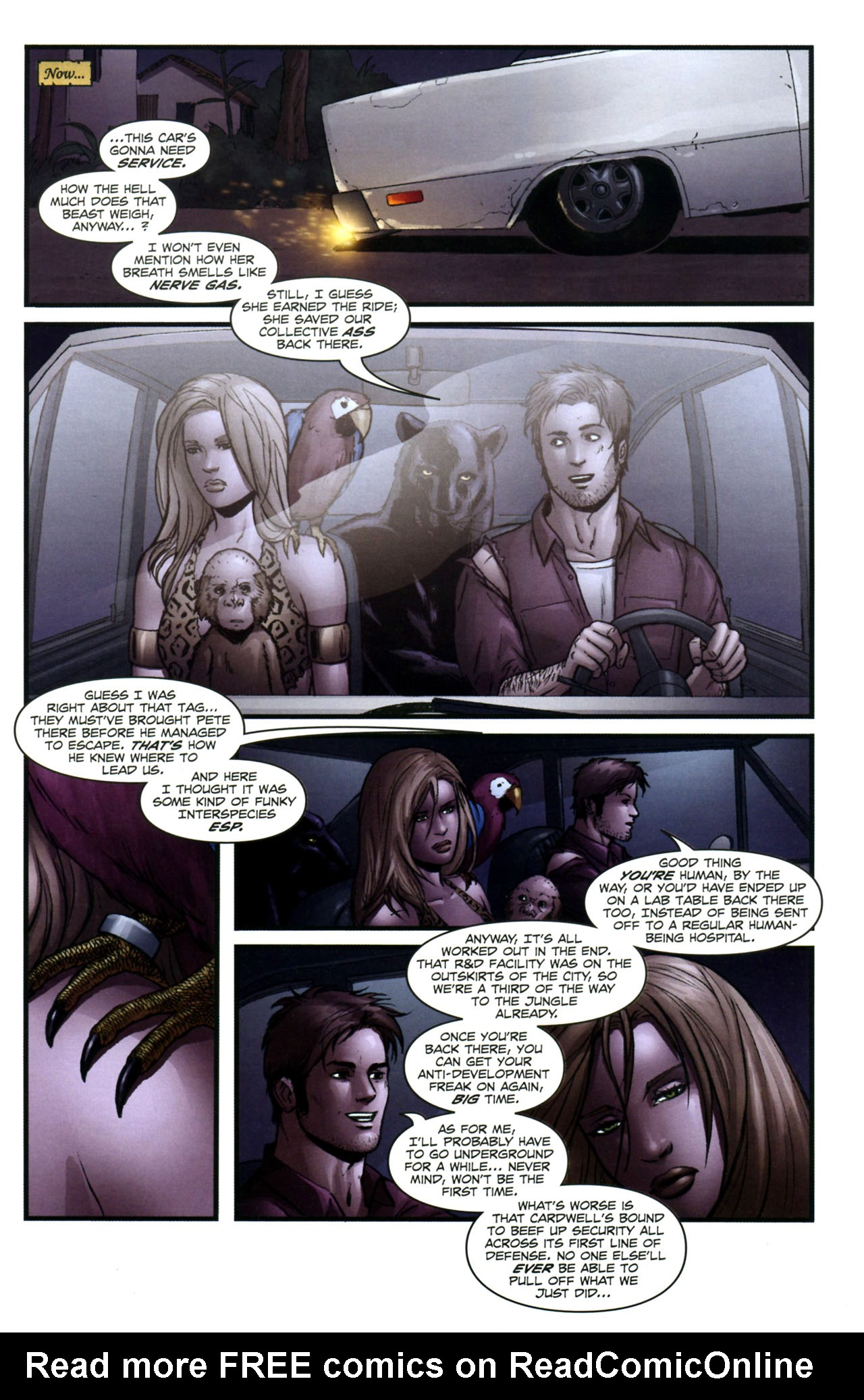 Read online Sheena, Queen of the Jungle comic -  Issue #3 - 20