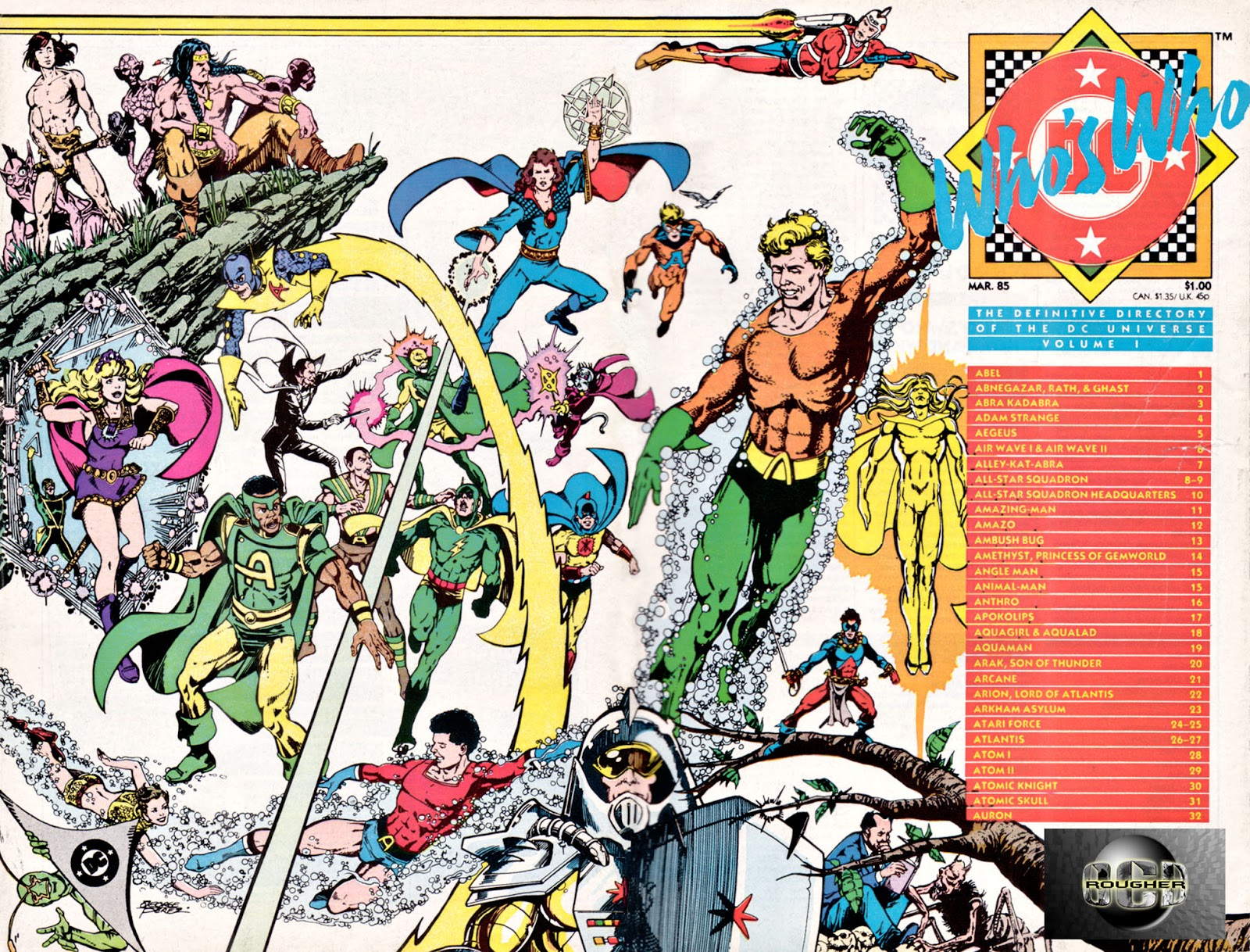 Whos Who: The Definitive Directory of the DC Universe 1 Page 1