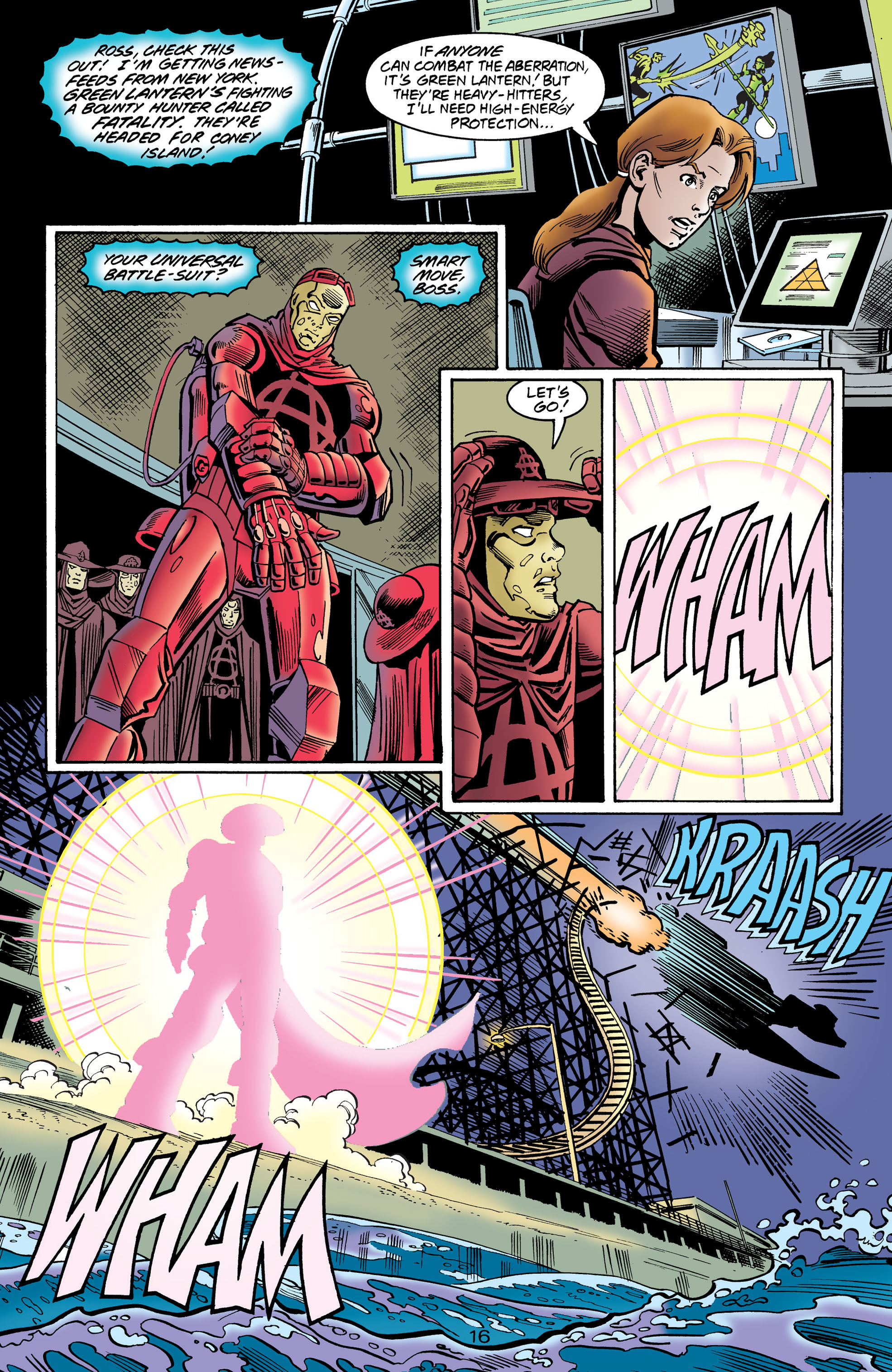 Read online Anarky (1999) comic -  Issue #1 - 17