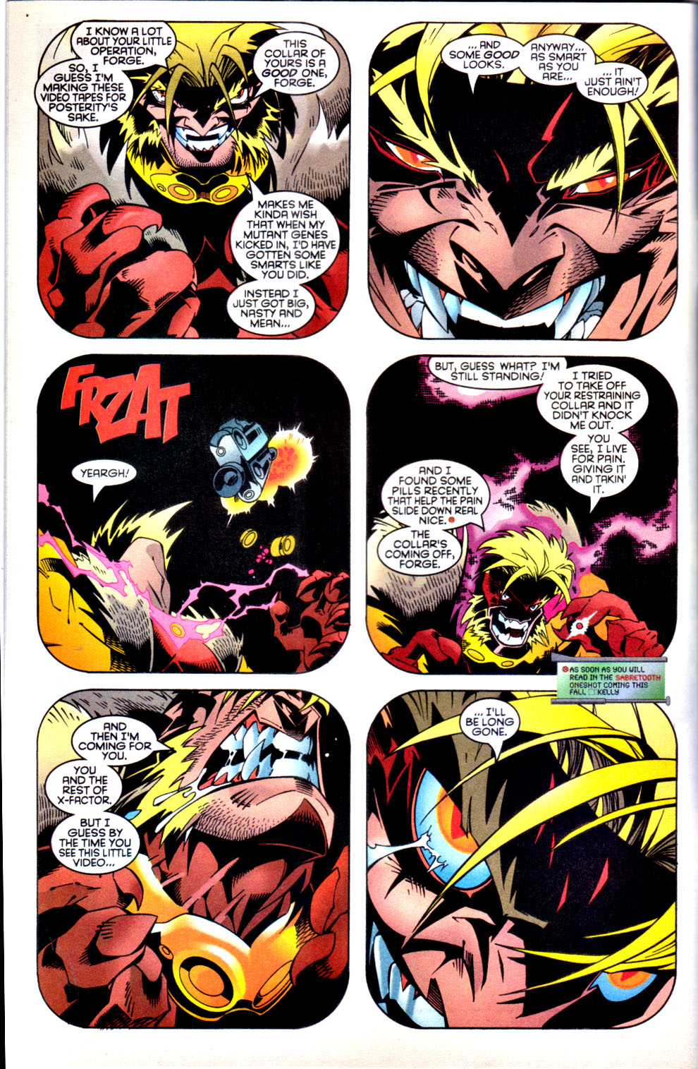 Read online X-Factor (1986) comic -  Issue #136 - 5