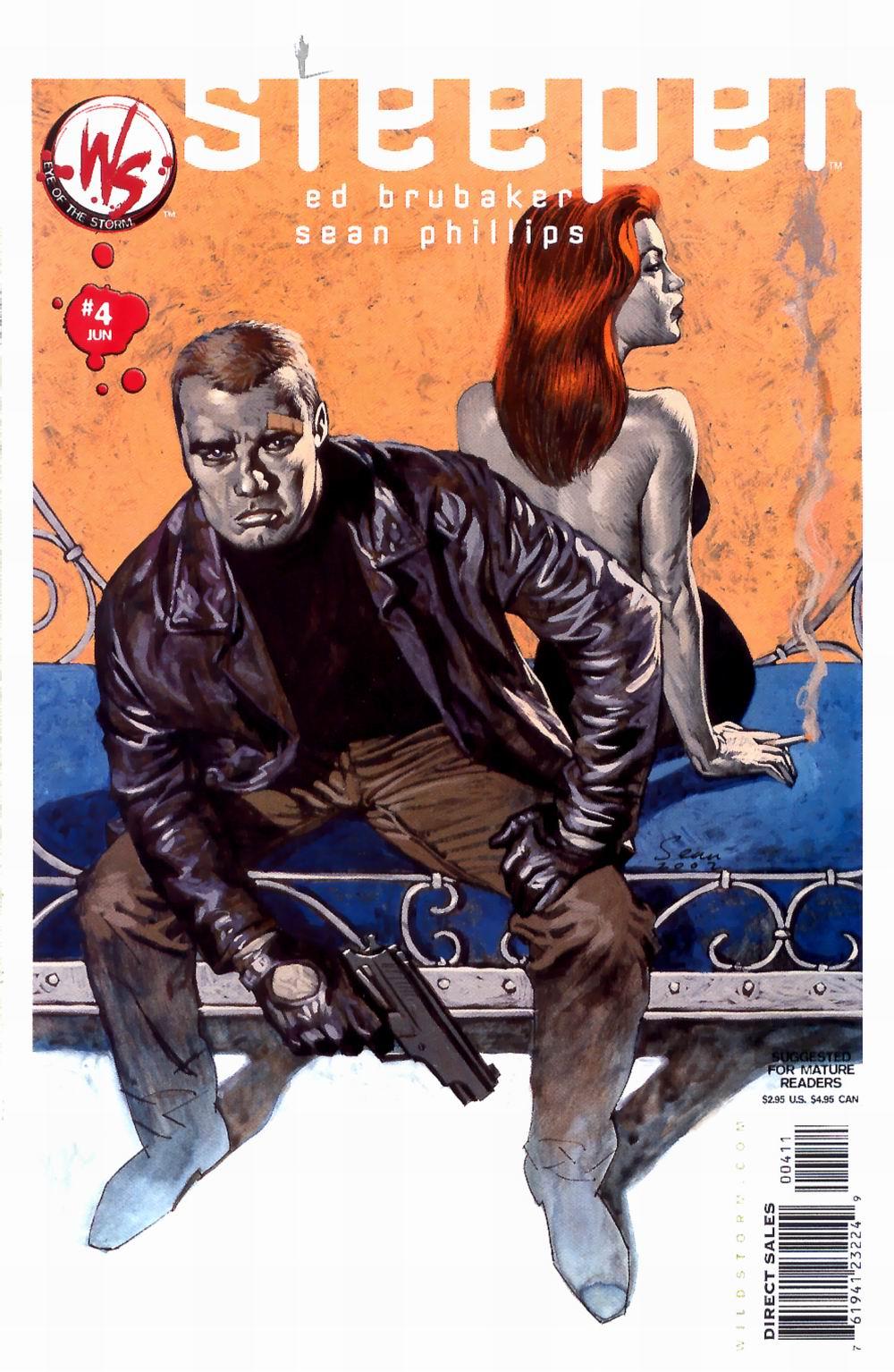 Read online Sleeper comic -  Issue #4 - 2
