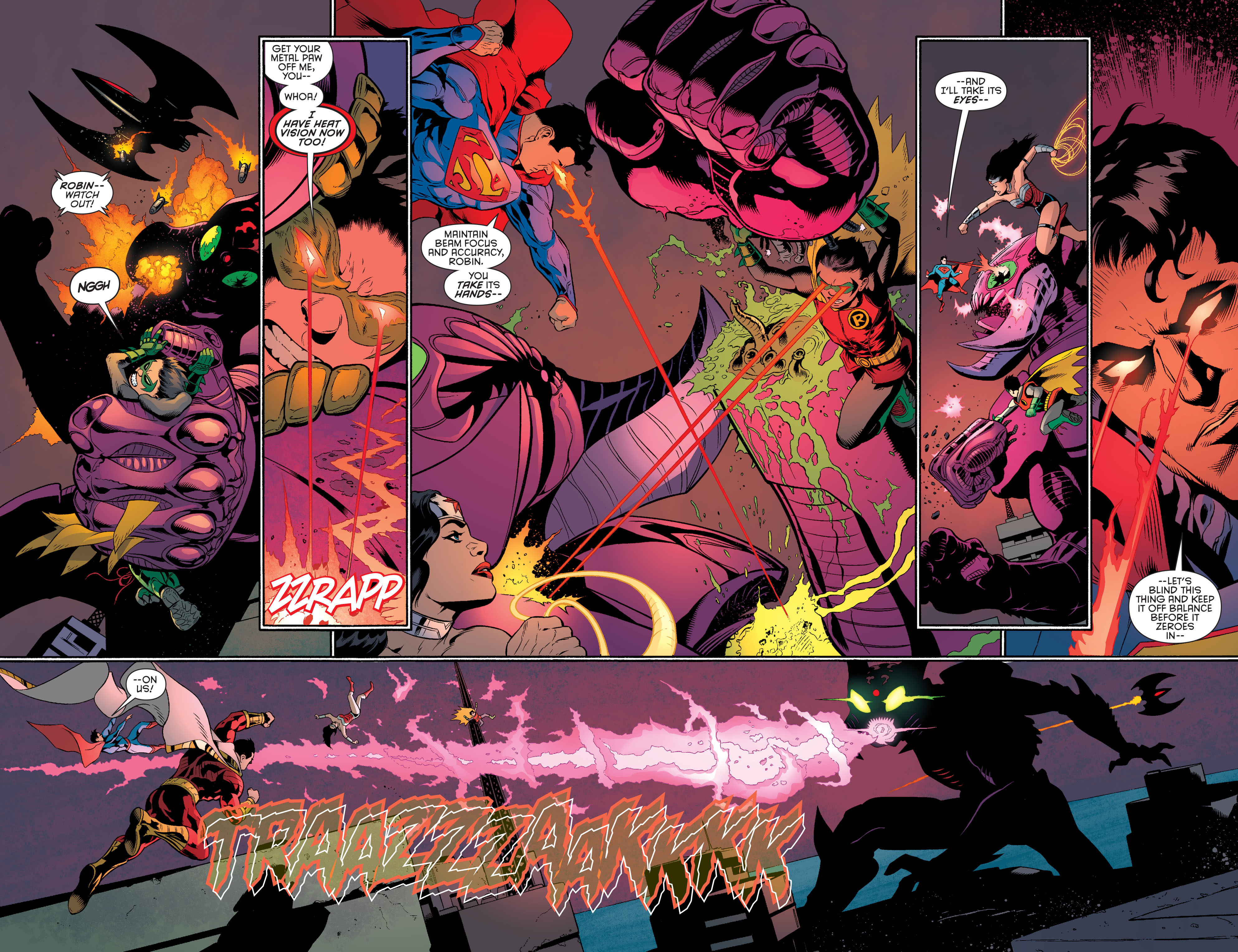 Read online Batman and Robin (2011) comic -  Issue #40 - 4