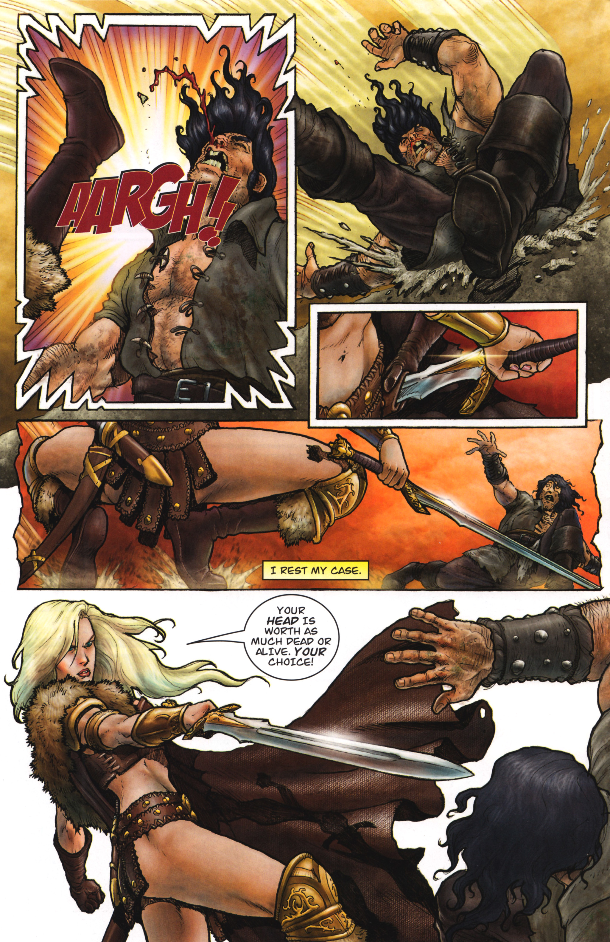 Read online Arhian: Head Huntress comic -  Issue #1 - 8