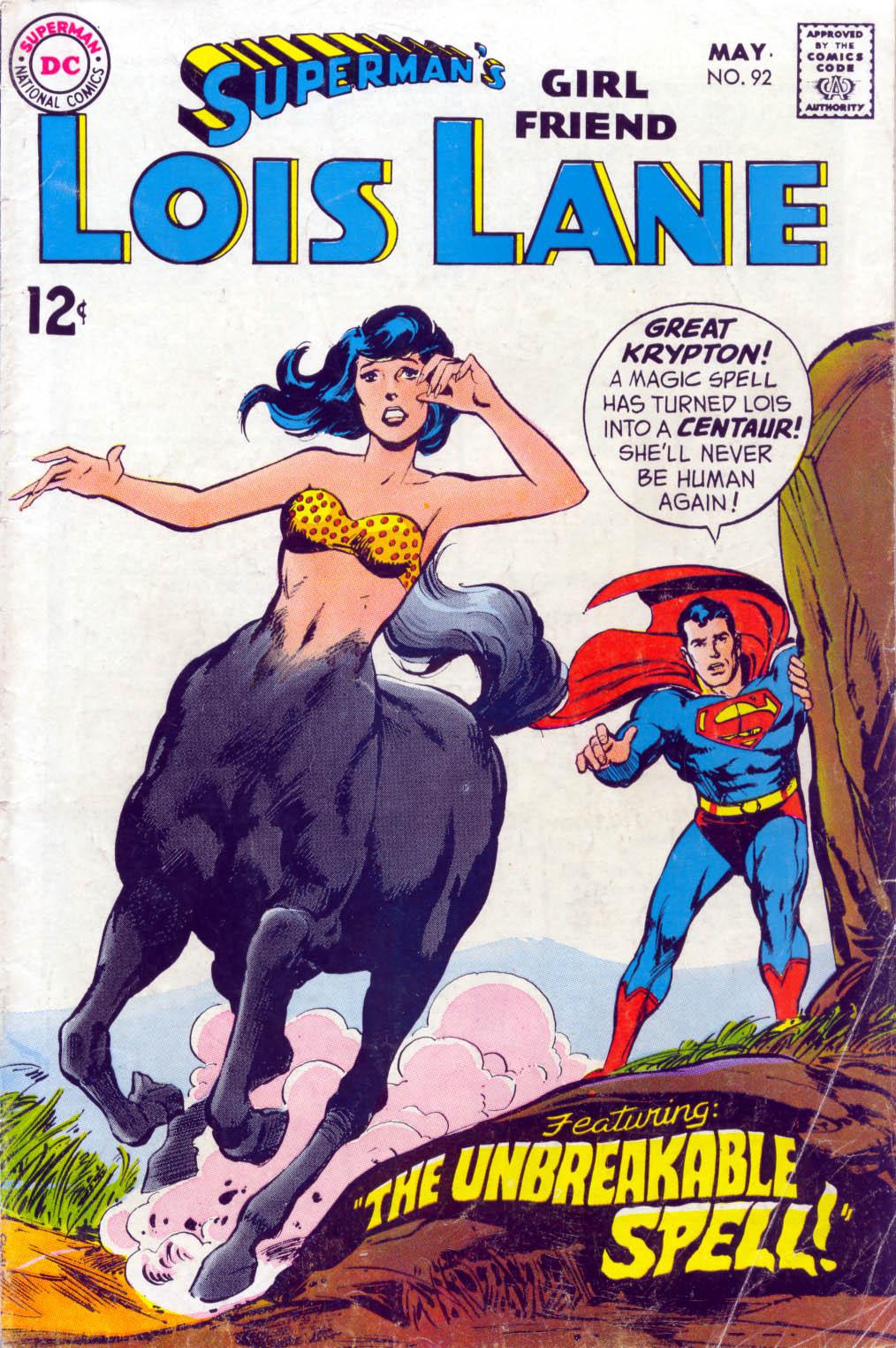 Supermans Girl Friend, Lois Lane 92 Page 1