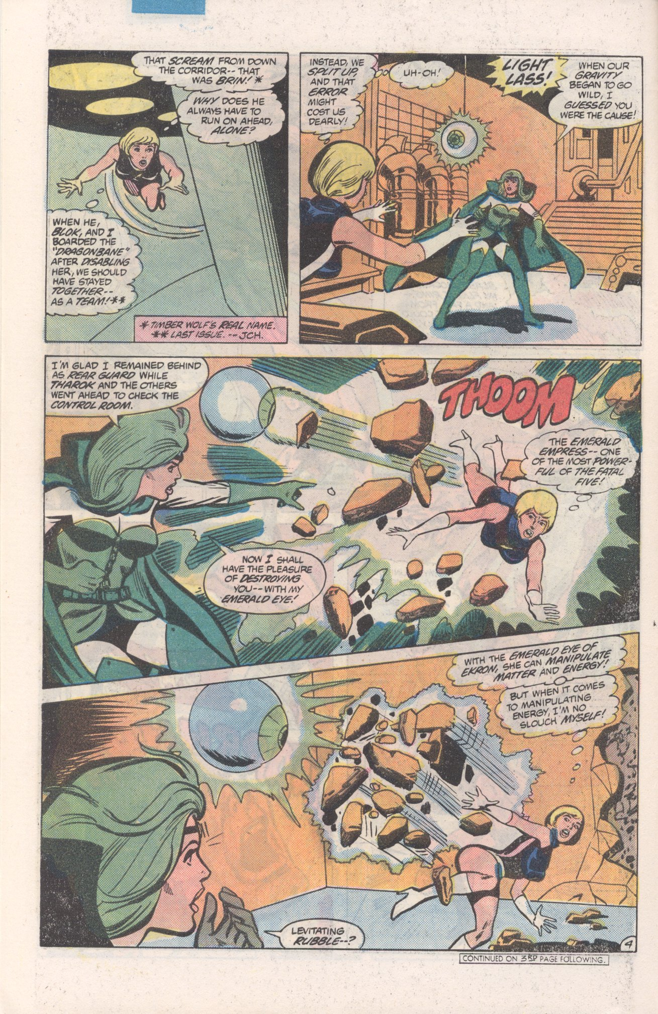 Legion of Super-Heroes (1980) 271 Page 4