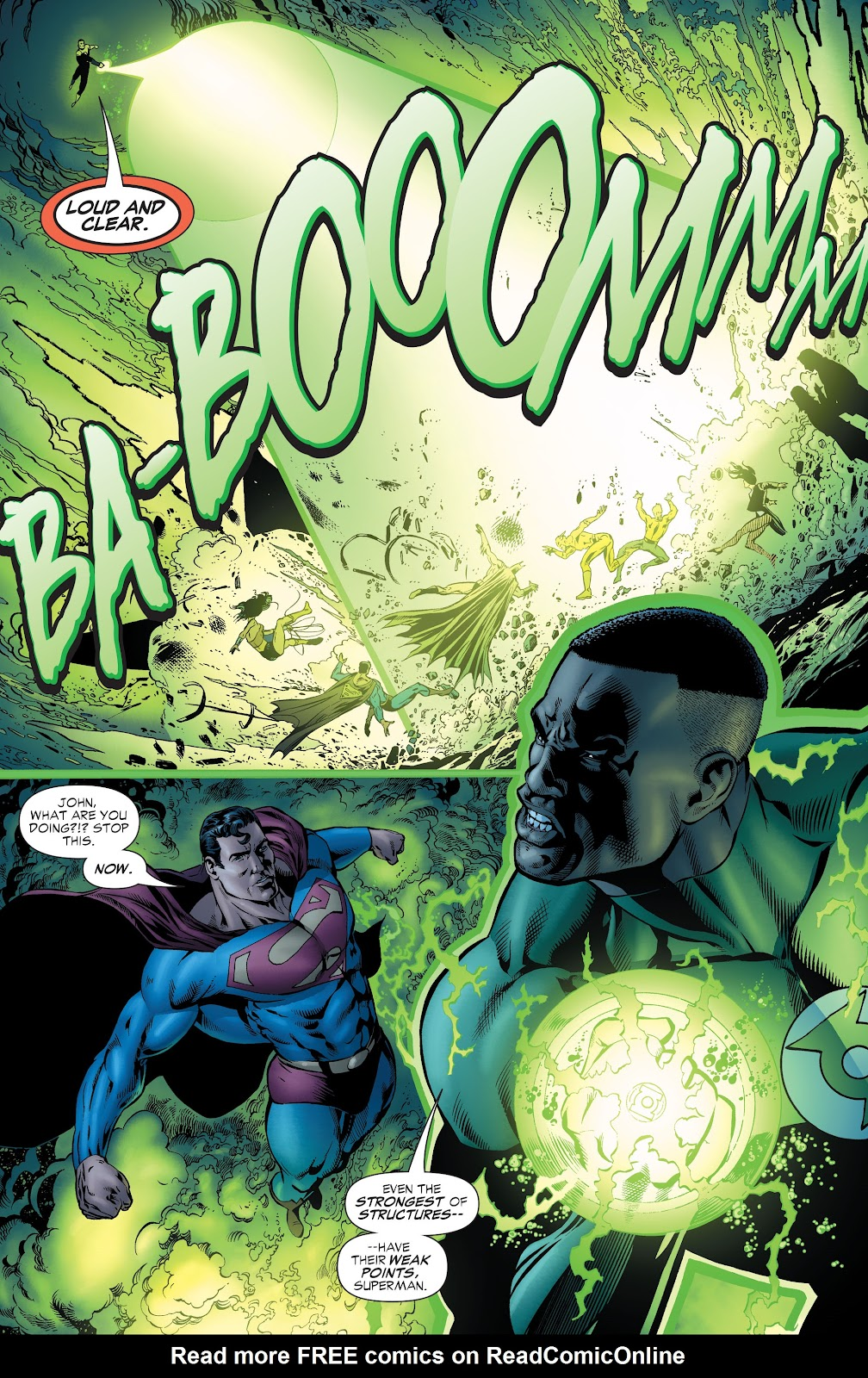 Read online Green Lantern by Geoff Johns comic -  Issue # TPB 1 (Part 1) - 56