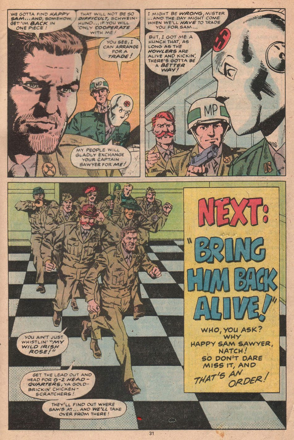 Read online Sgt. Fury comic -  Issue #156 - 32